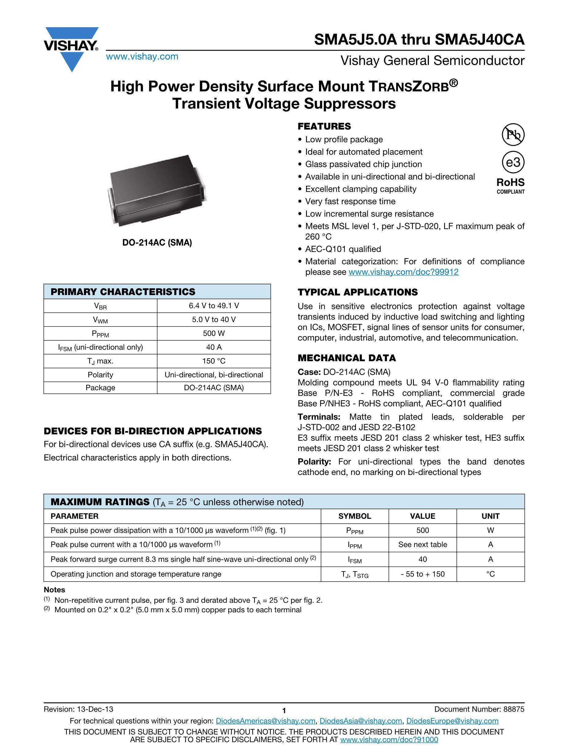 SMA5950B-110V's pdf picture 1