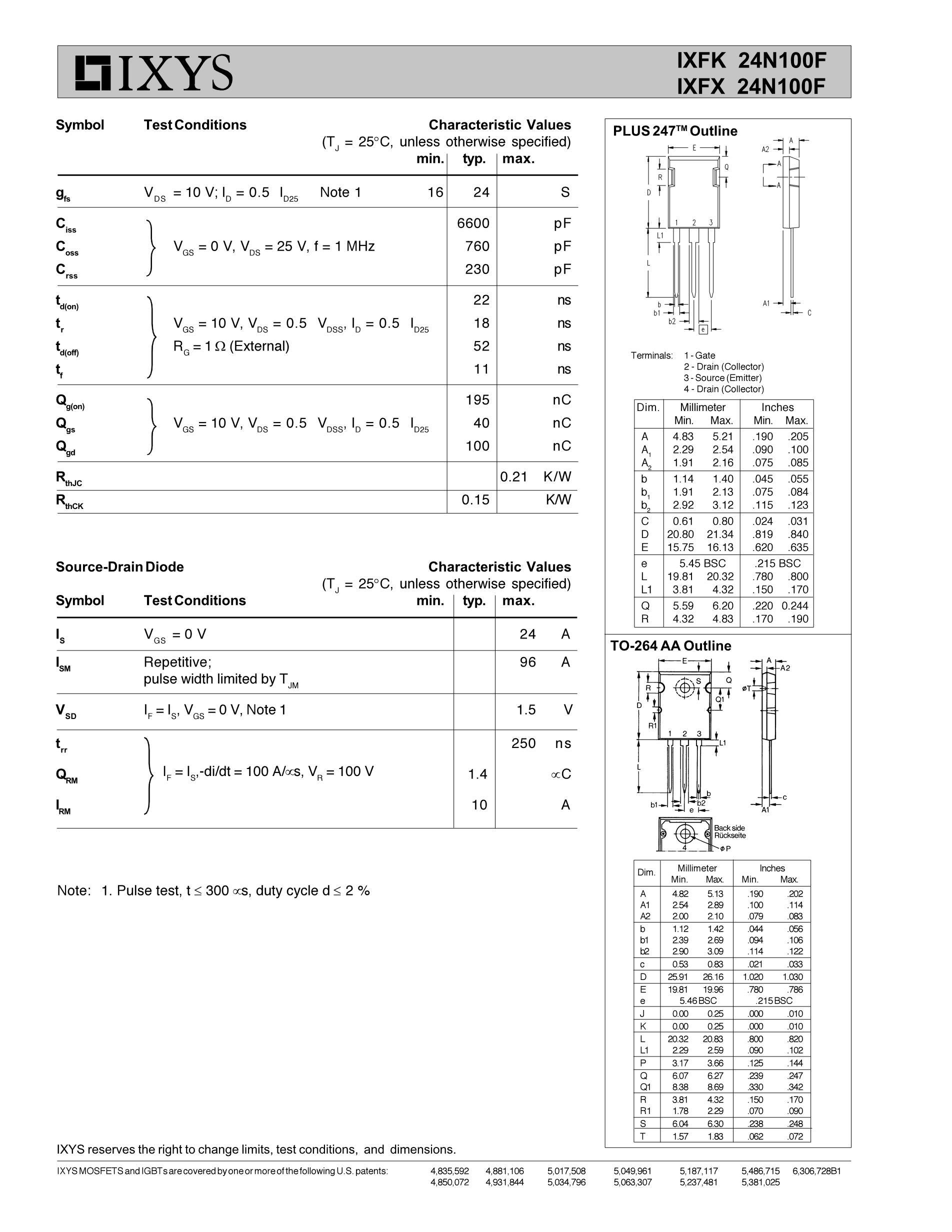 IXFK102N30P's pdf picture 2