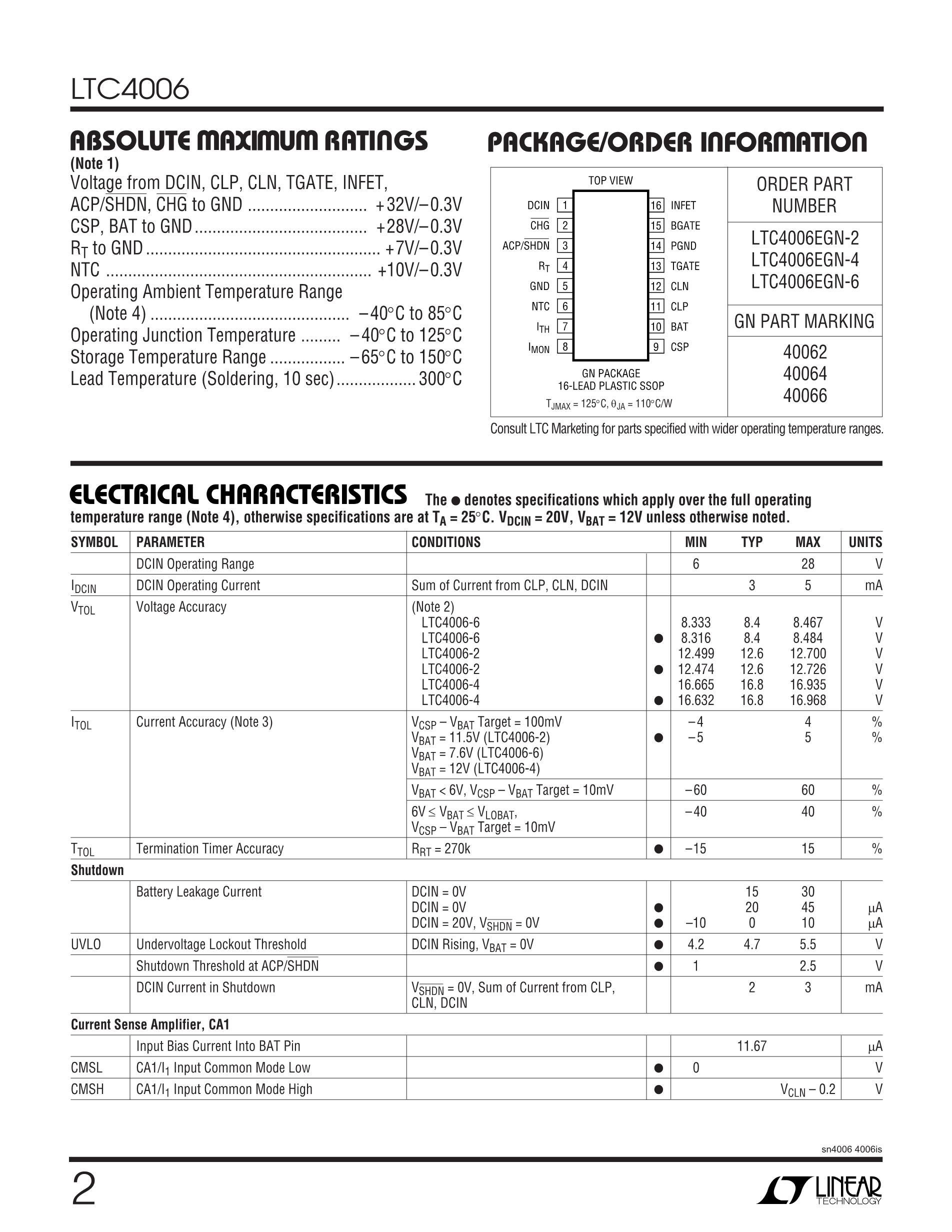 LTC489CSW/CS's pdf picture 2