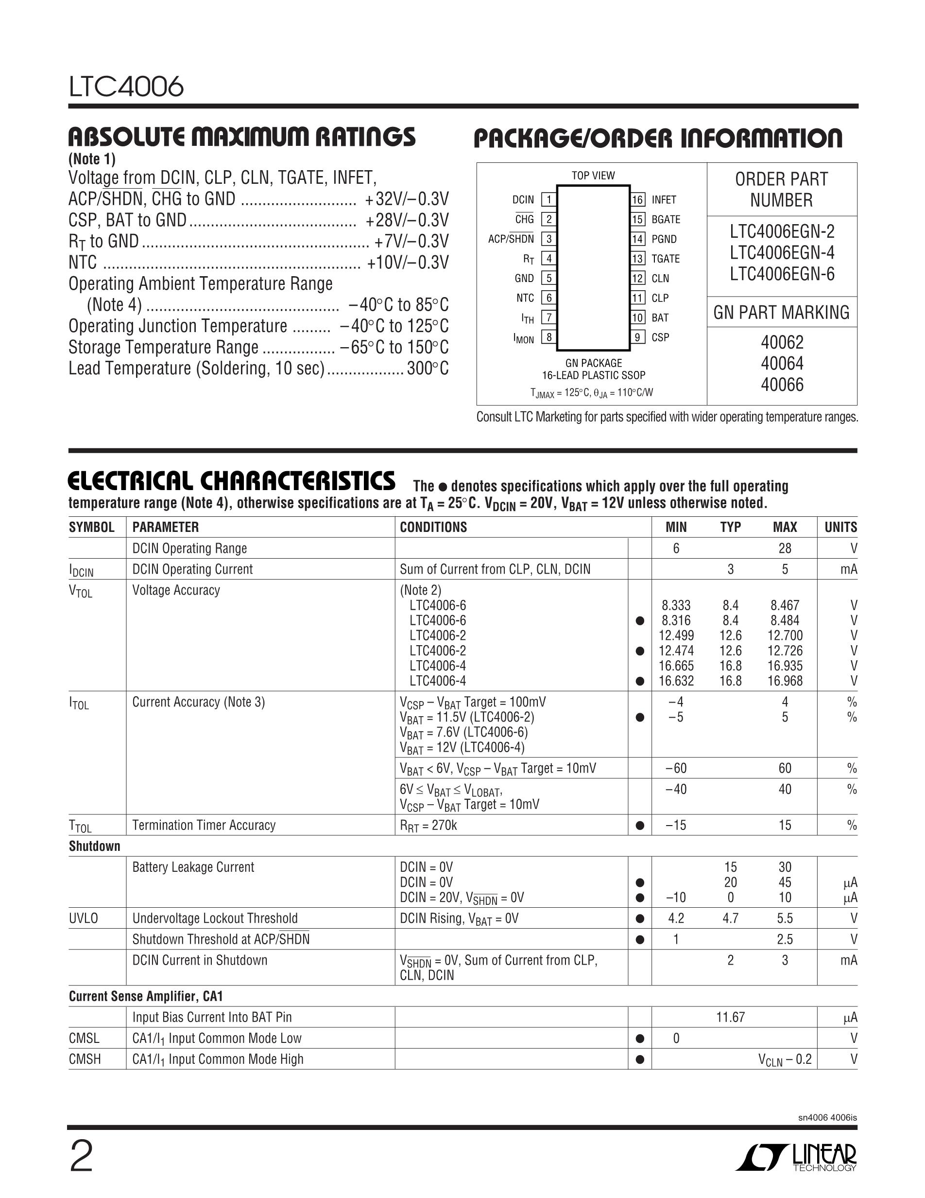 LTC4416EMS#TRPBF's pdf picture 2