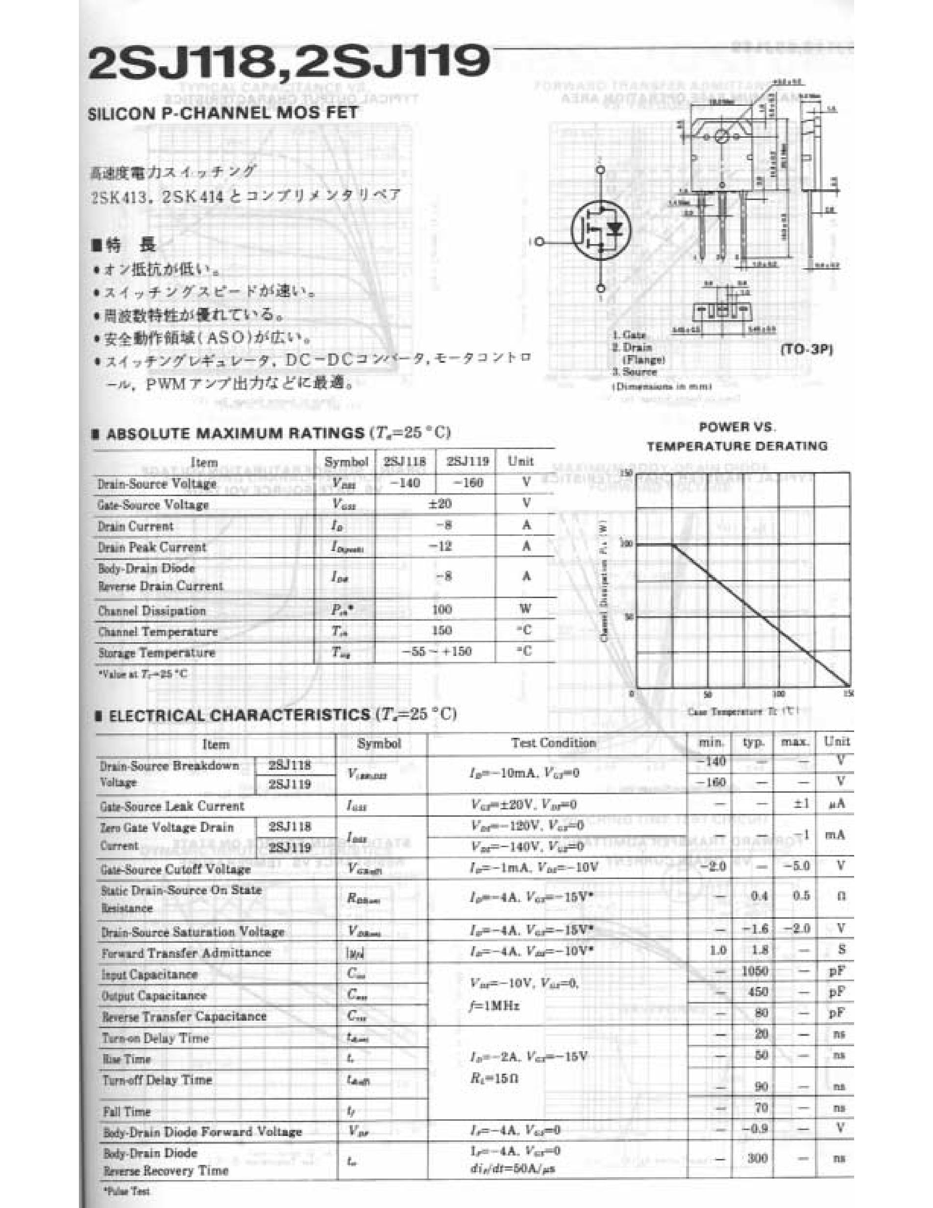 2SJ187/JA's pdf picture 1