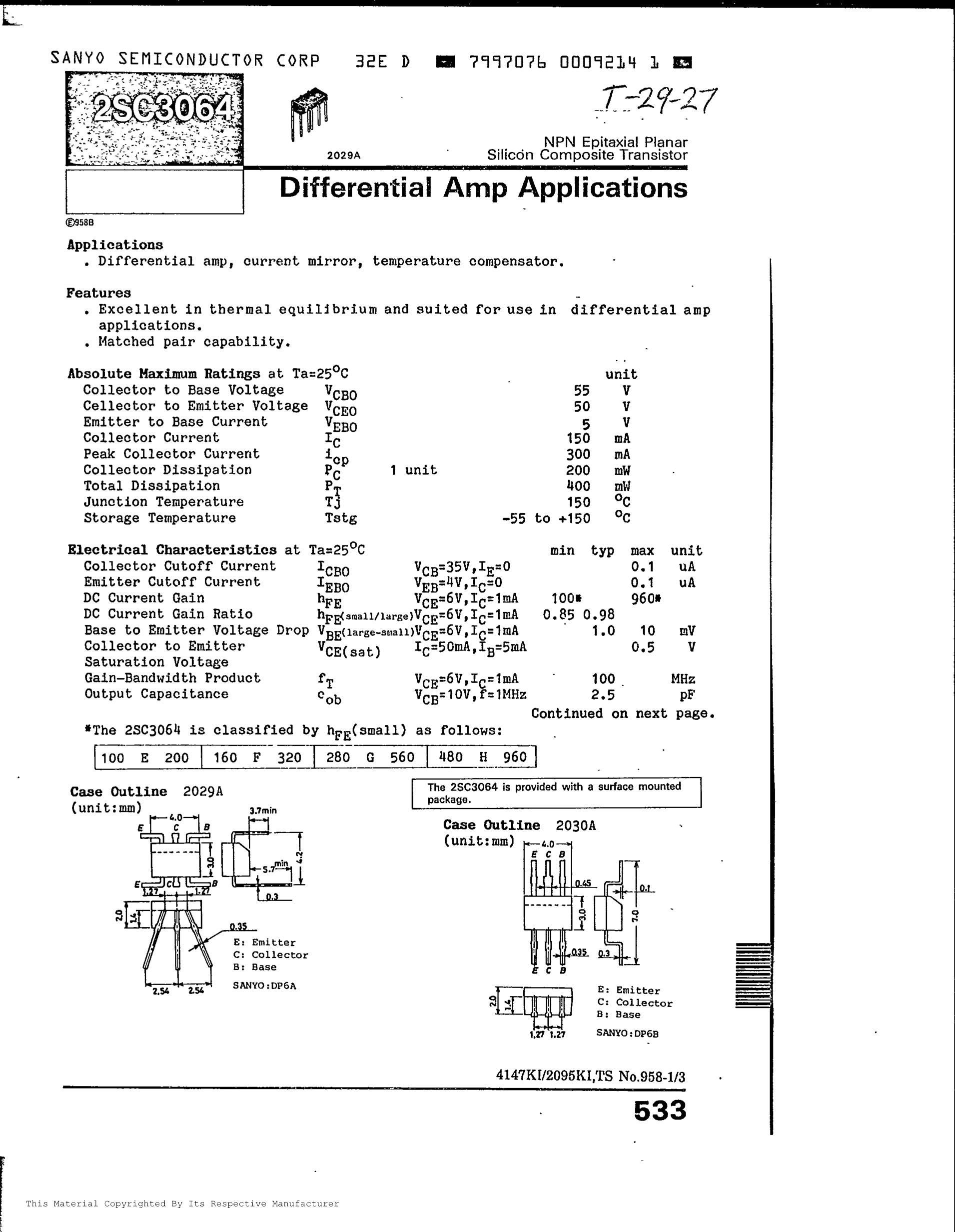 2SC3661's pdf picture 1