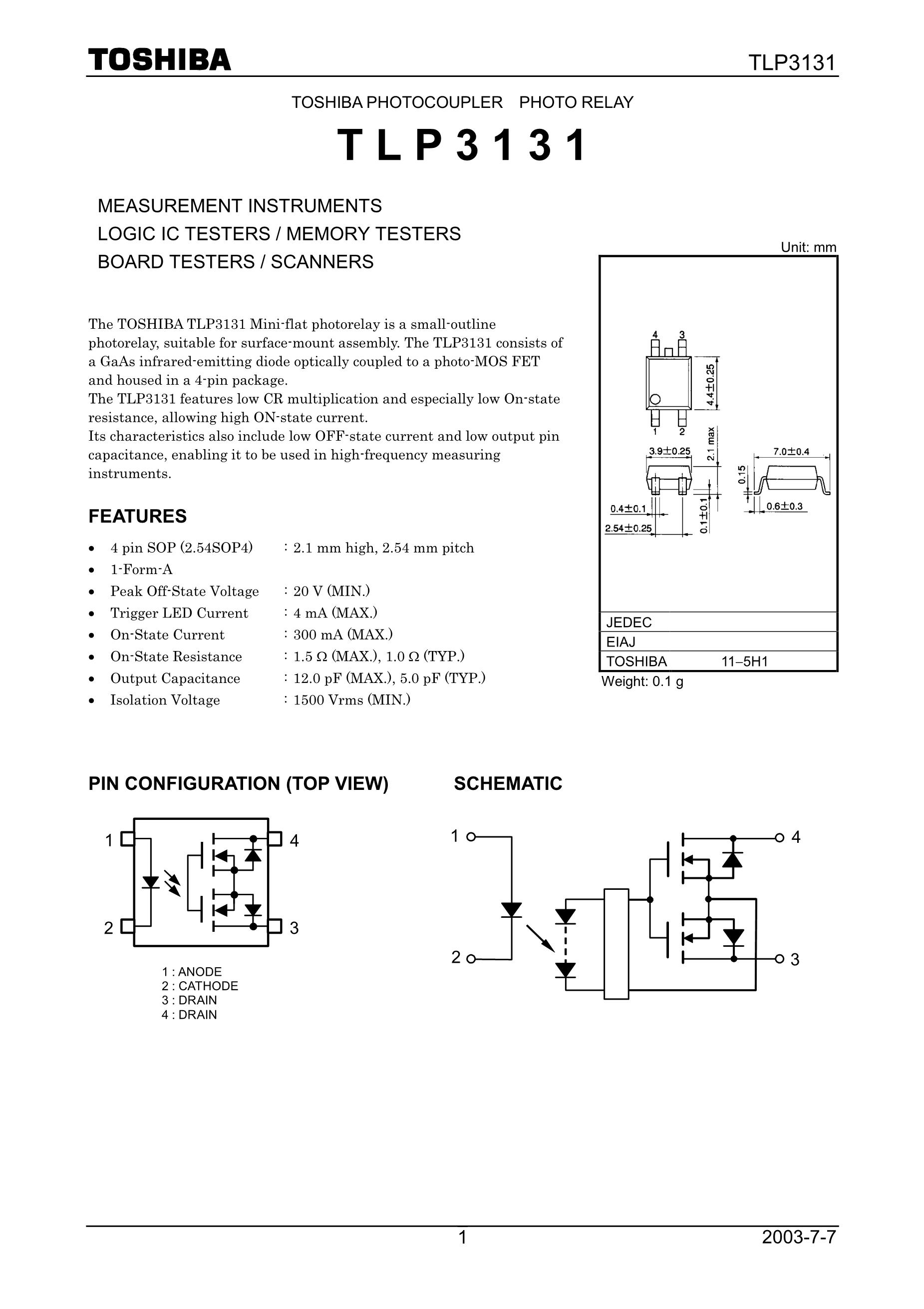 TLP360JF(D4's pdf picture 1
