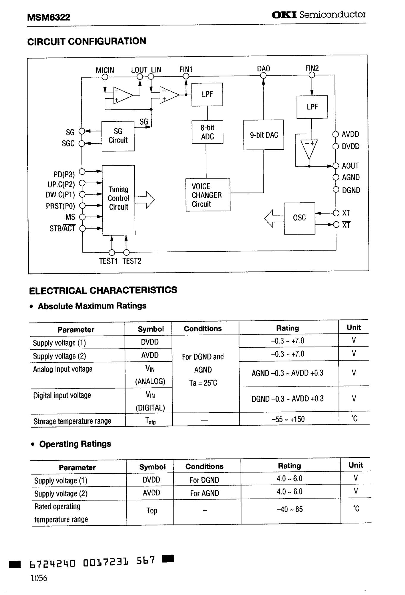 MSM6100CP90-V4400-6's pdf picture 2