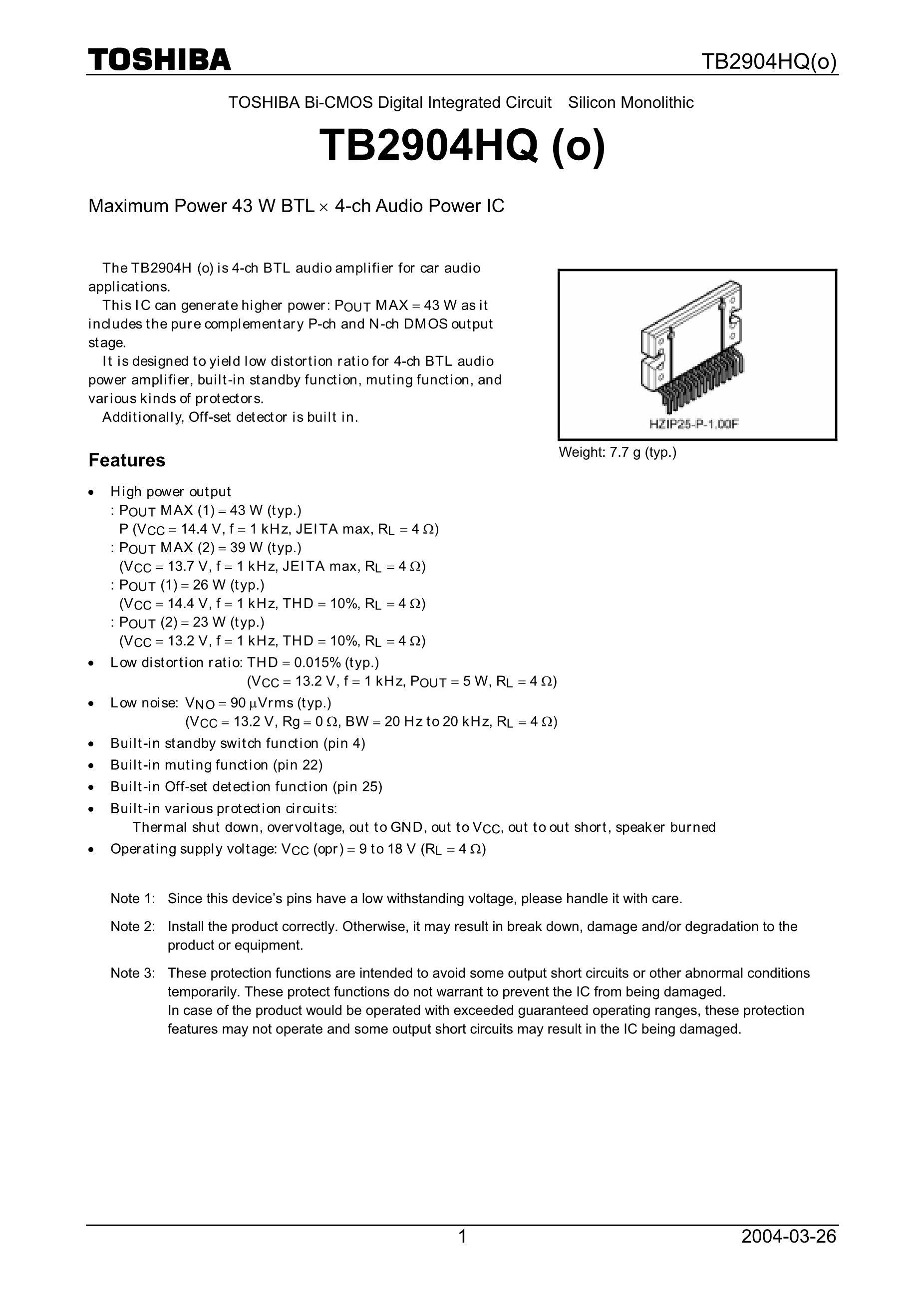 TB2941HQ's pdf picture 1