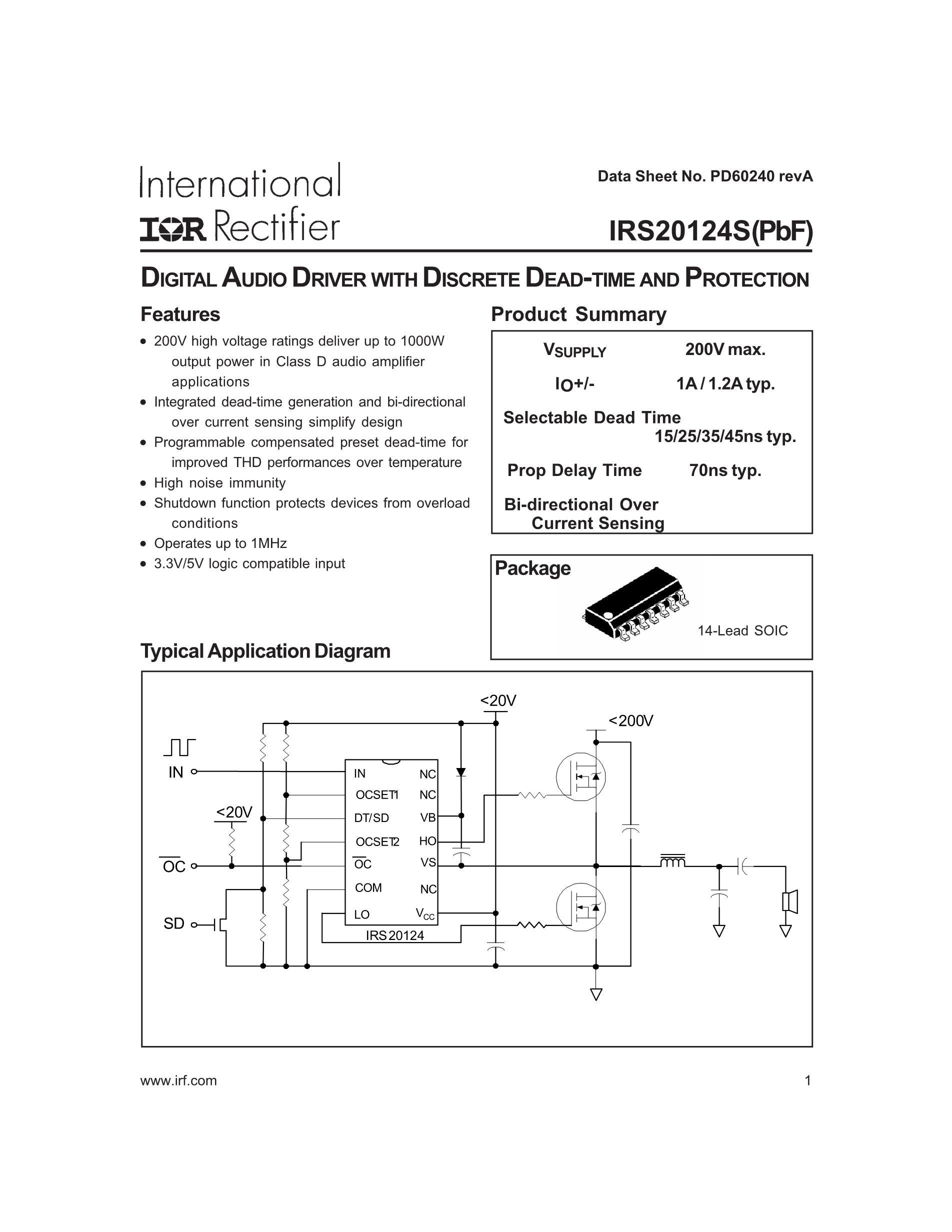 IRS2053MPBF's pdf picture 1