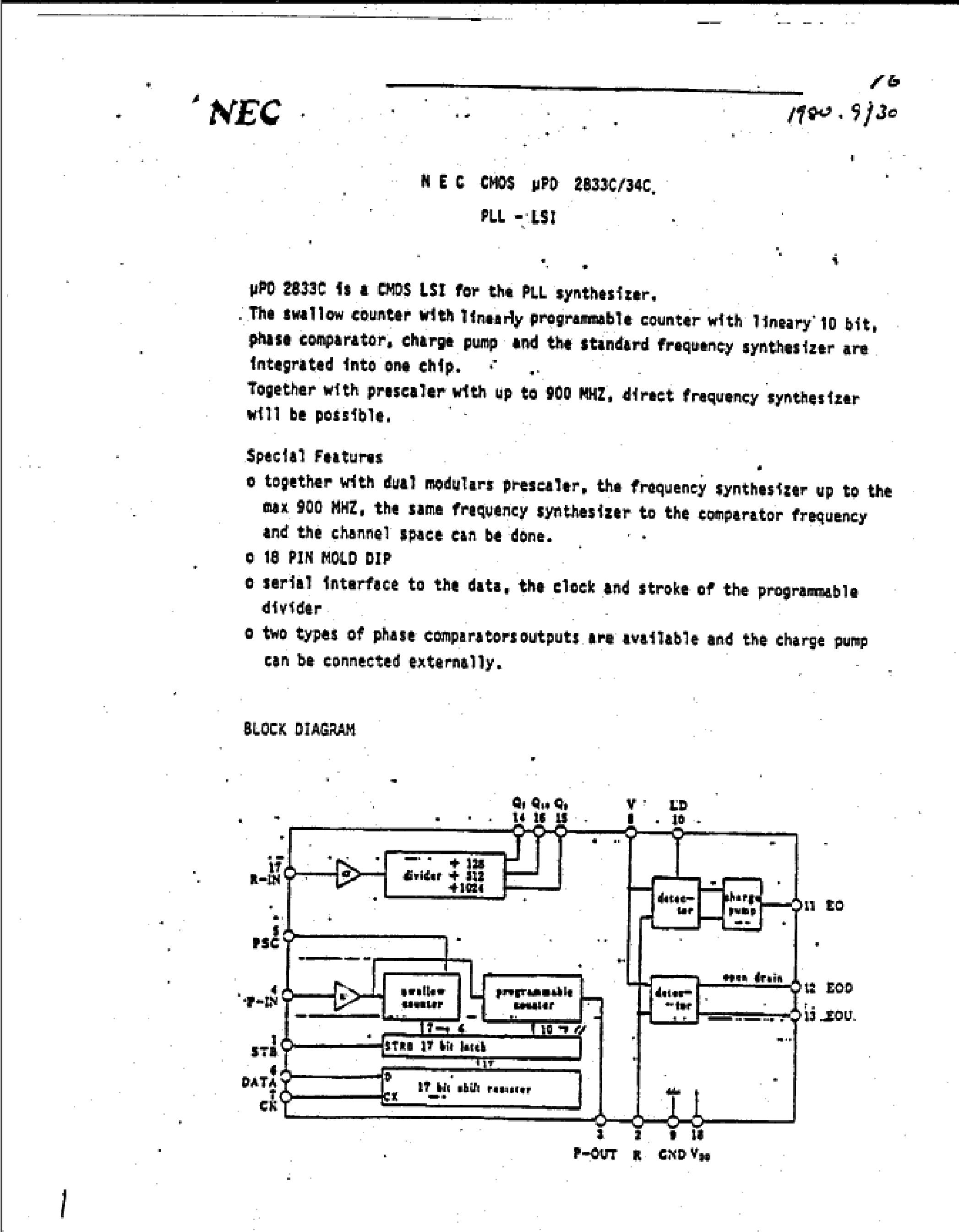 UPD2114LC-1's pdf picture 1