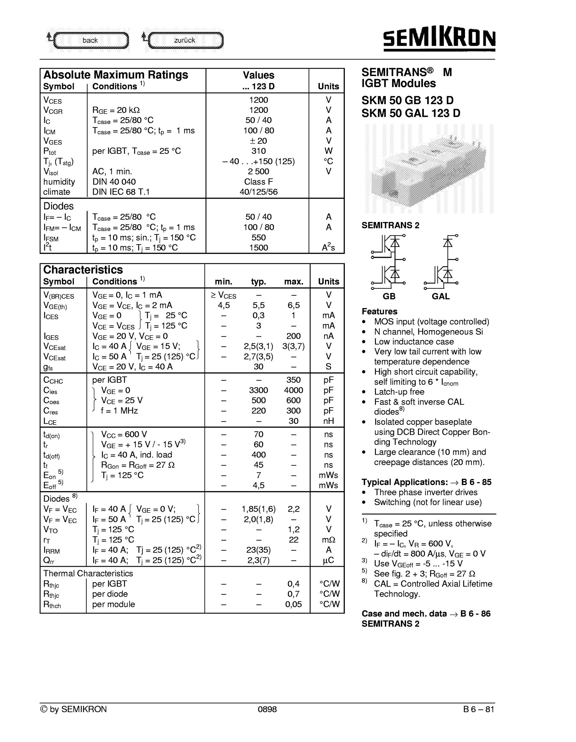 SKM50GA121D's pdf picture 1