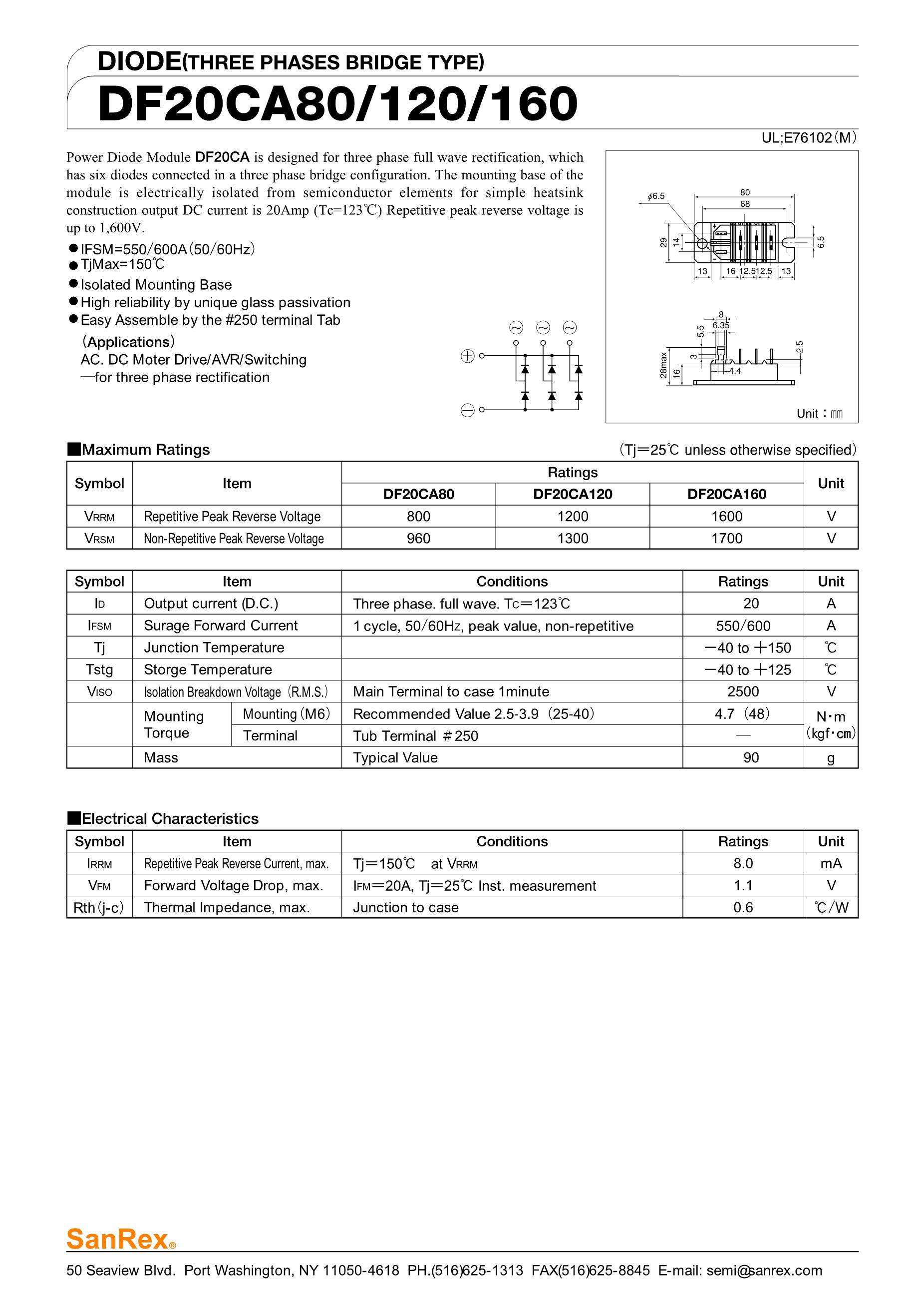 DF200FA80's pdf picture 1