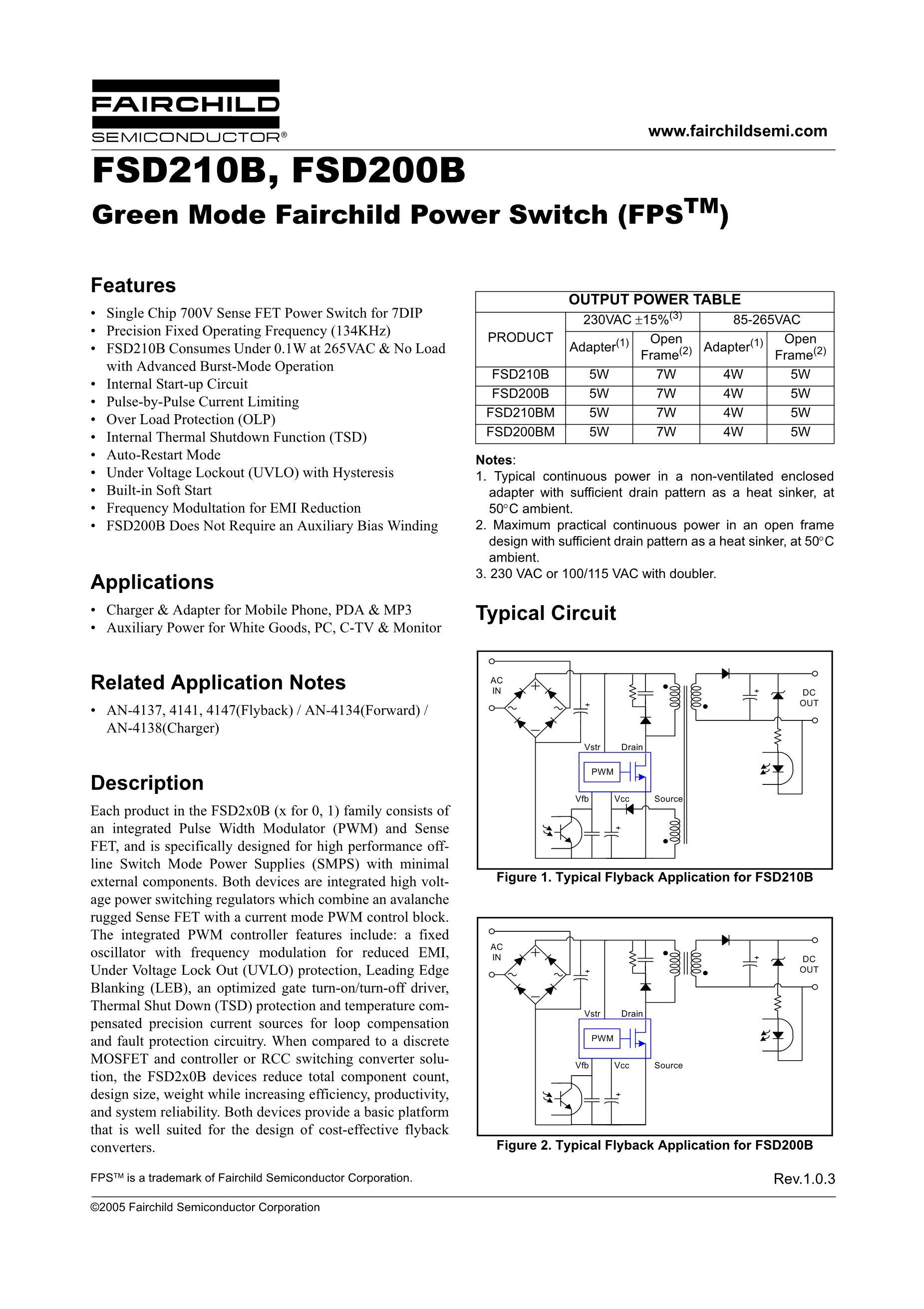FSD210BM's pdf picture 1