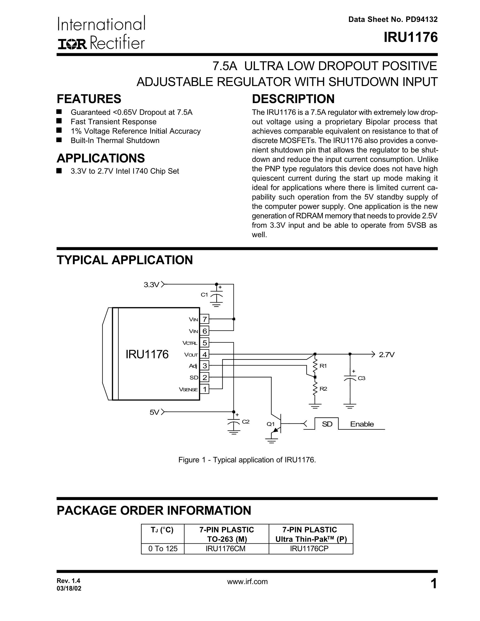 IRU1175CM's pdf picture 1