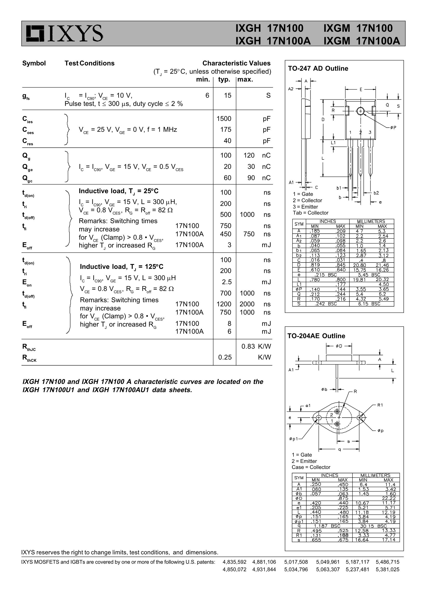 IXGH30N60B2's pdf picture 2