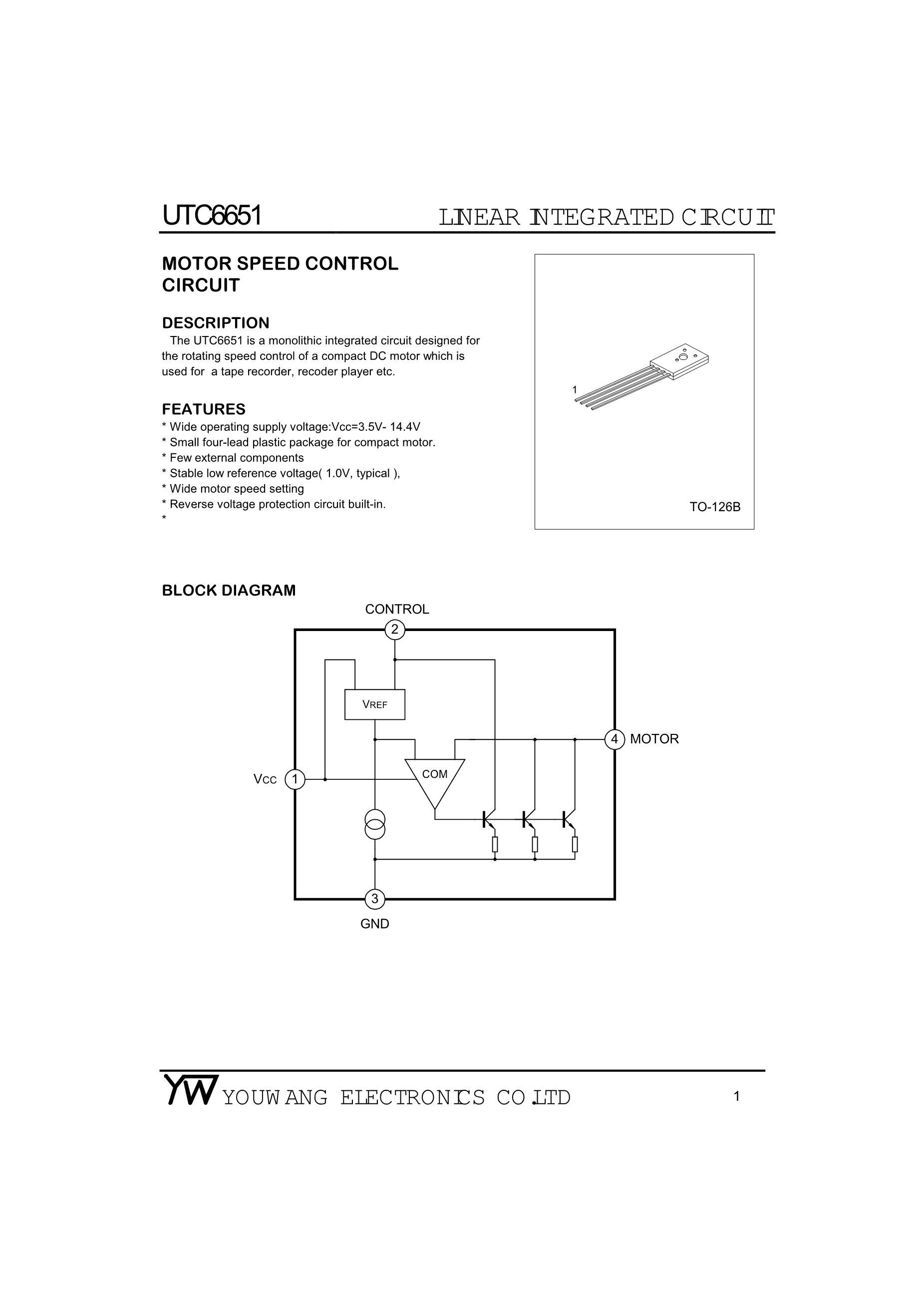 UTC(Unisonic Tech) 79D12AL-TN3-R's pdf picture 1