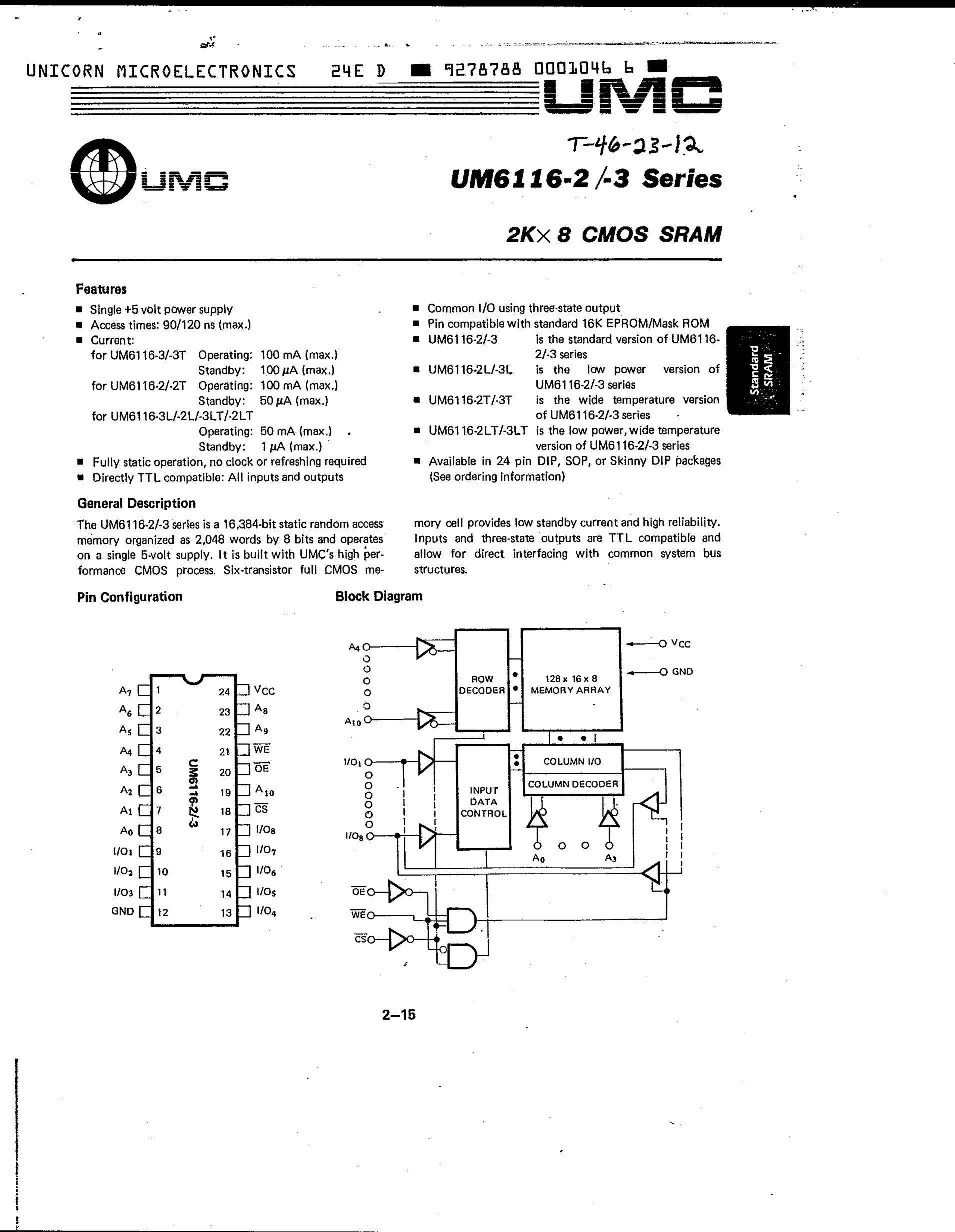 UM61L3264F-6's pdf picture 1