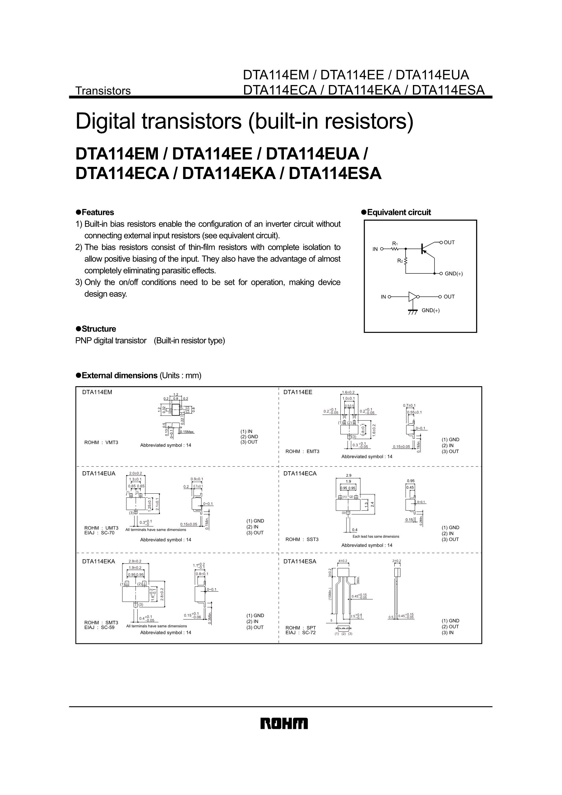 DTA143TU's pdf picture 1