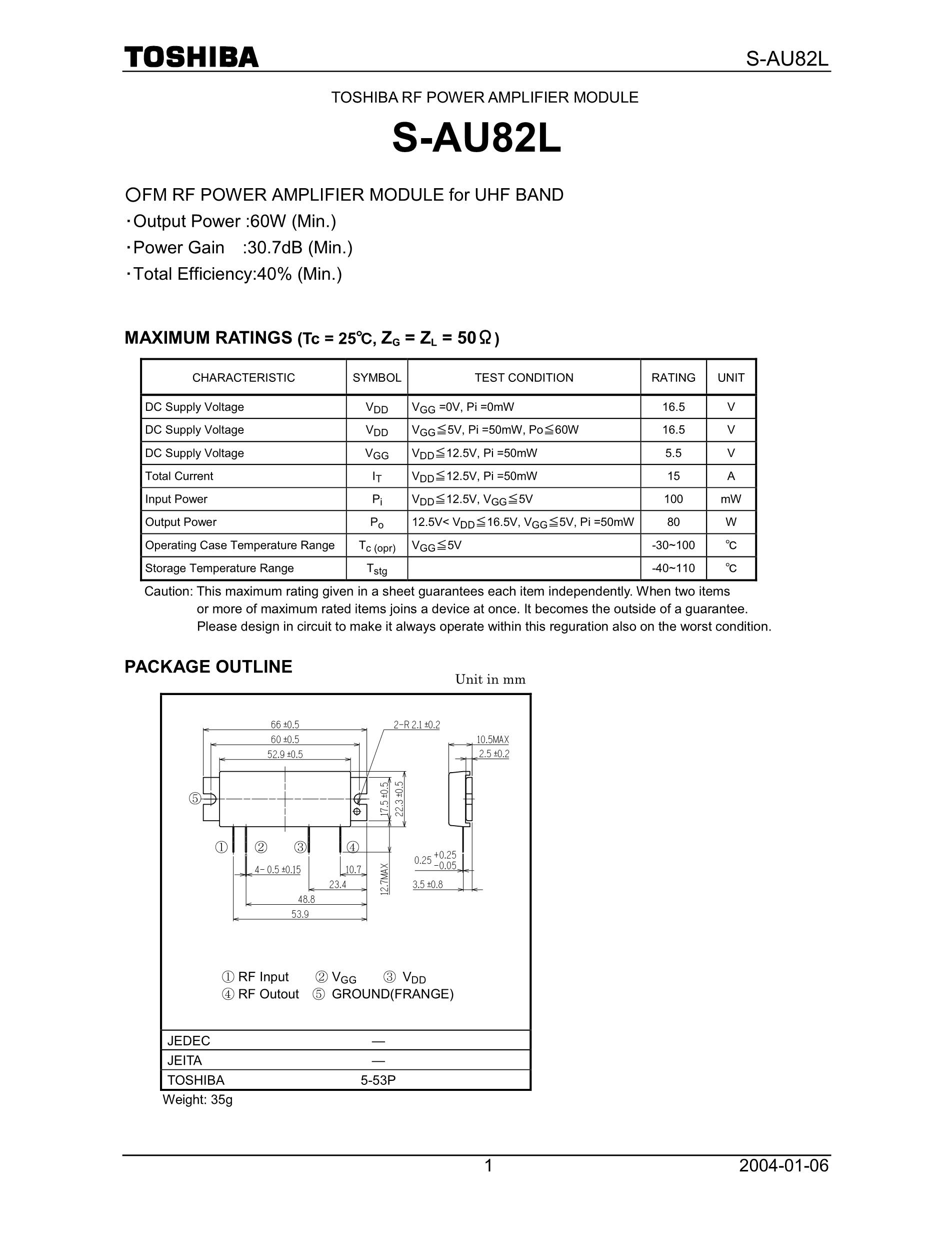 S-AU85/U85's pdf picture 1