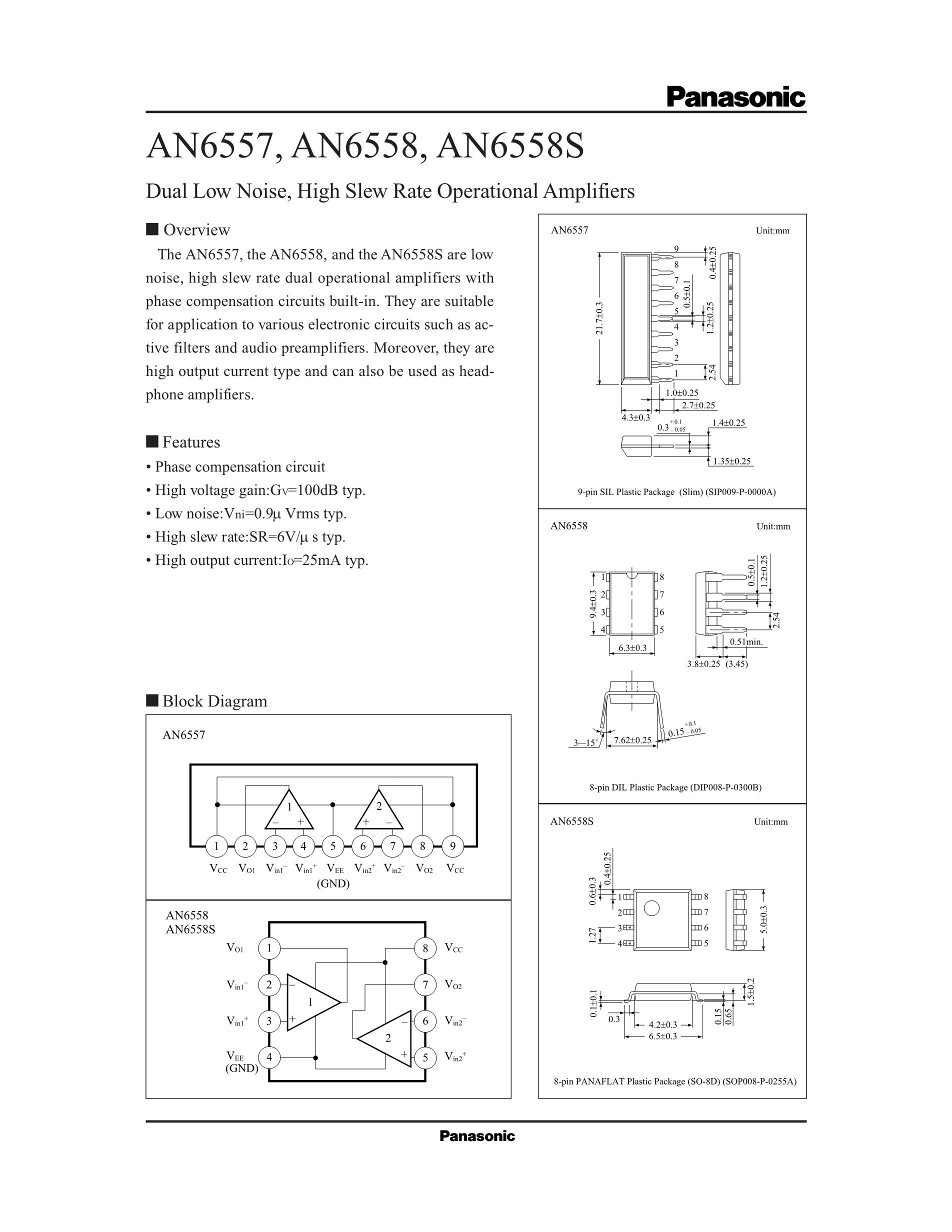 AN6562S's pdf picture 1