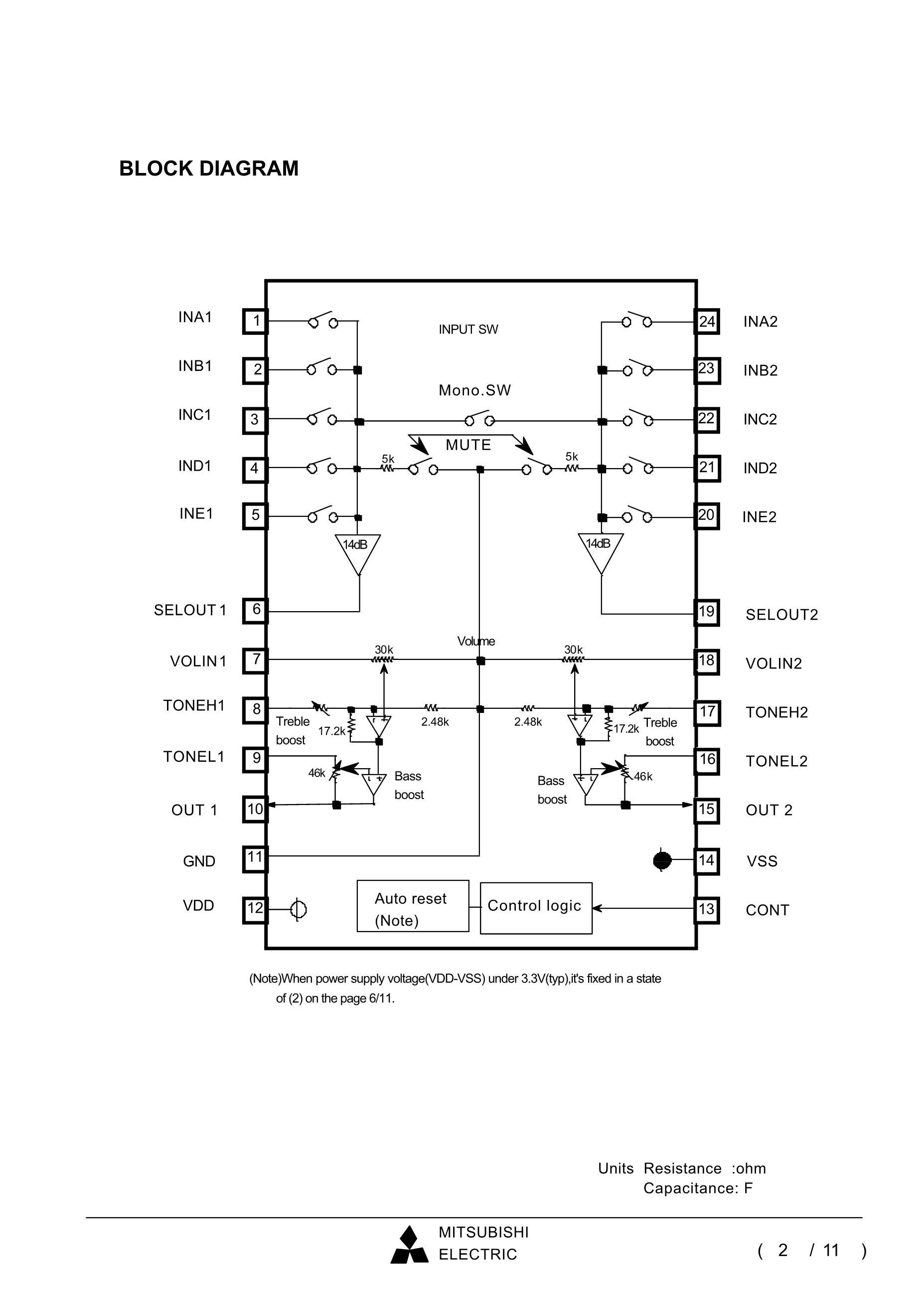 M62497FP's pdf picture 2