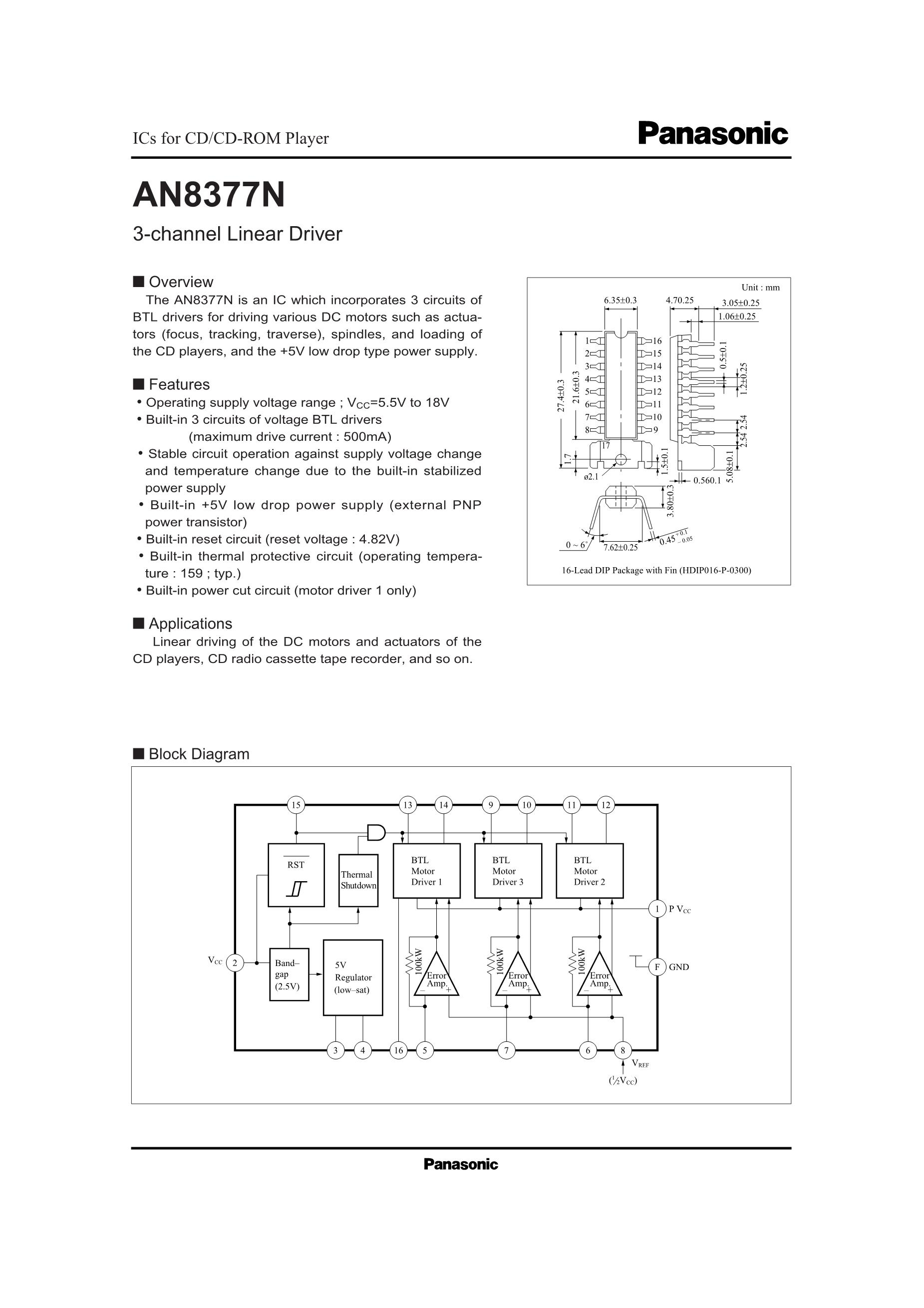 AN8399's pdf picture 1