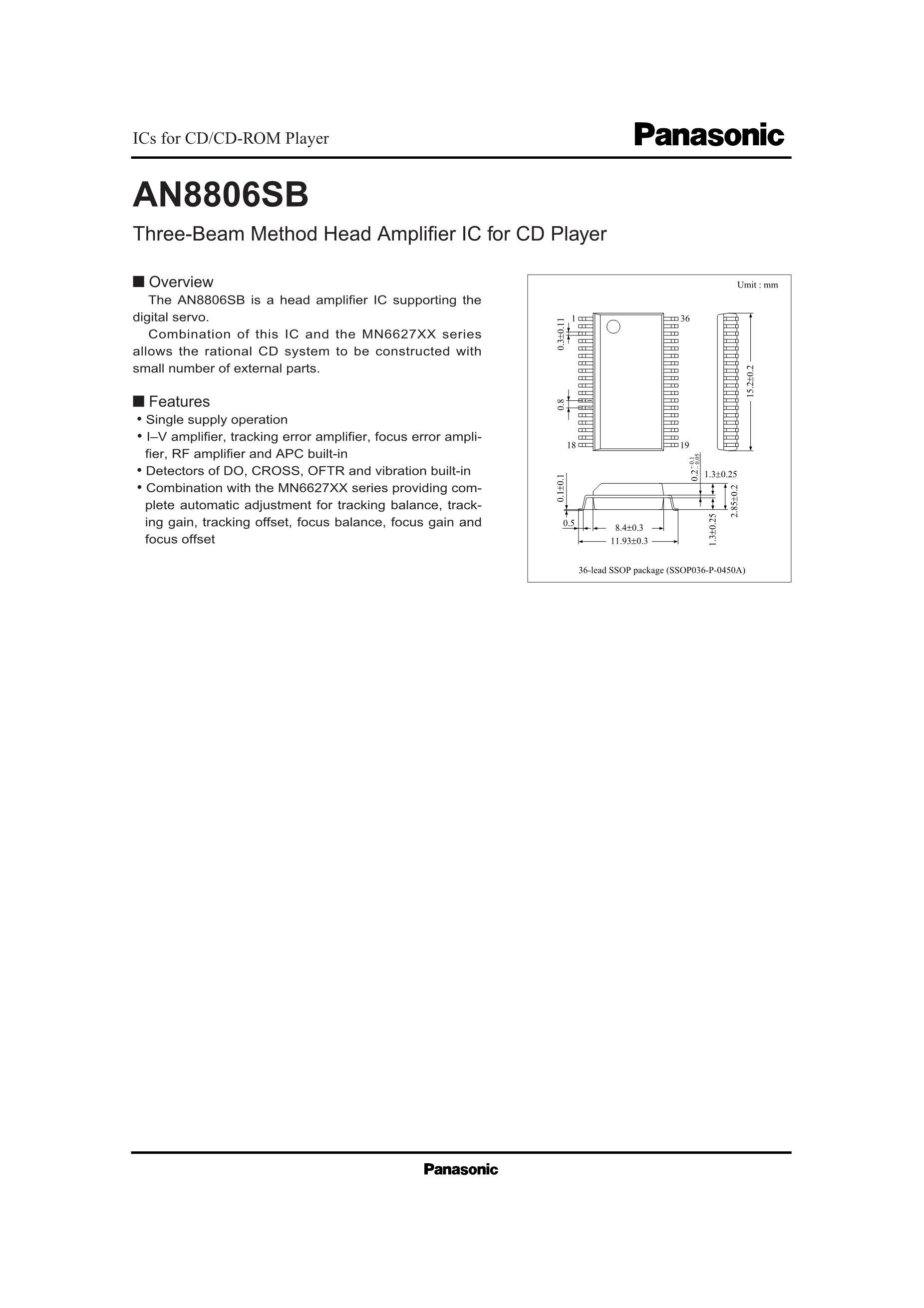 AN8848SB's pdf picture 1