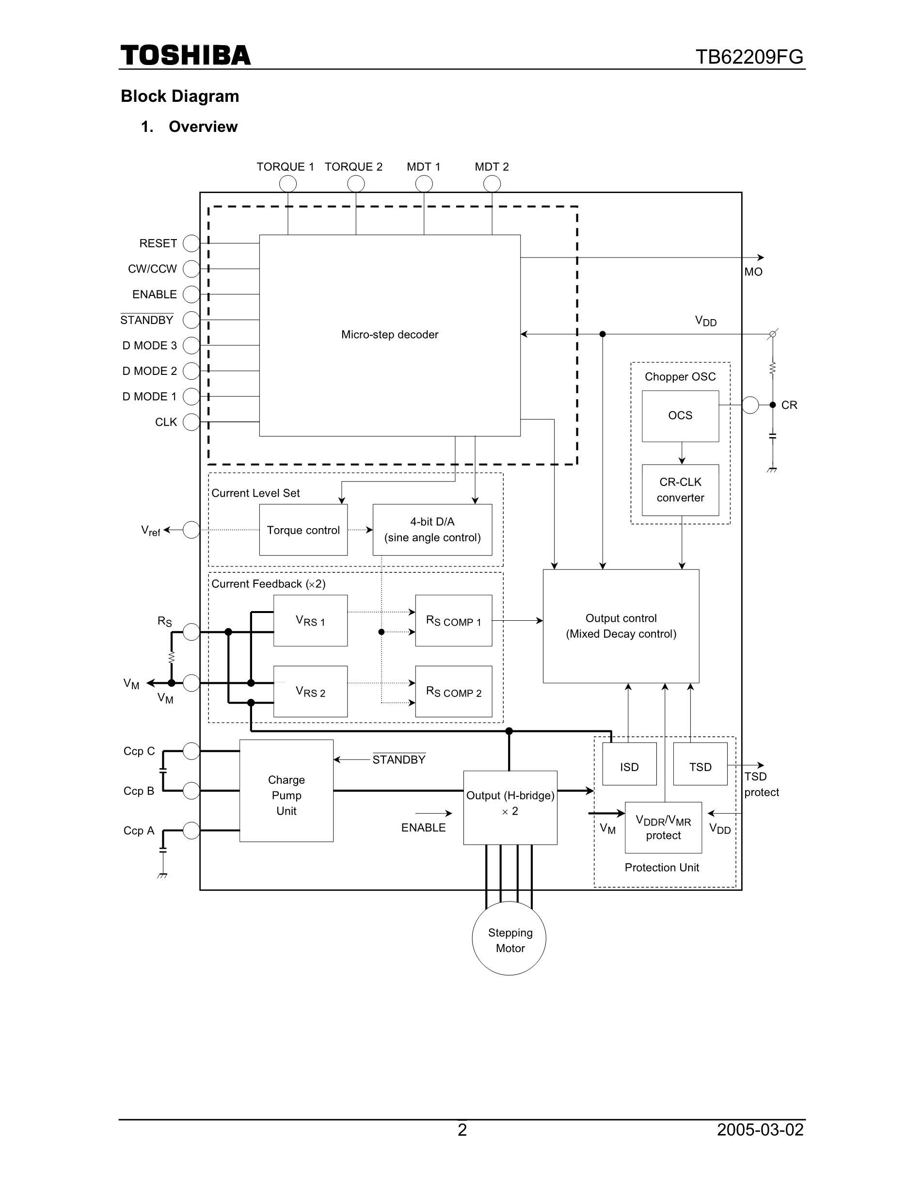 TB62214AFTG(O,8,EL's pdf picture 2