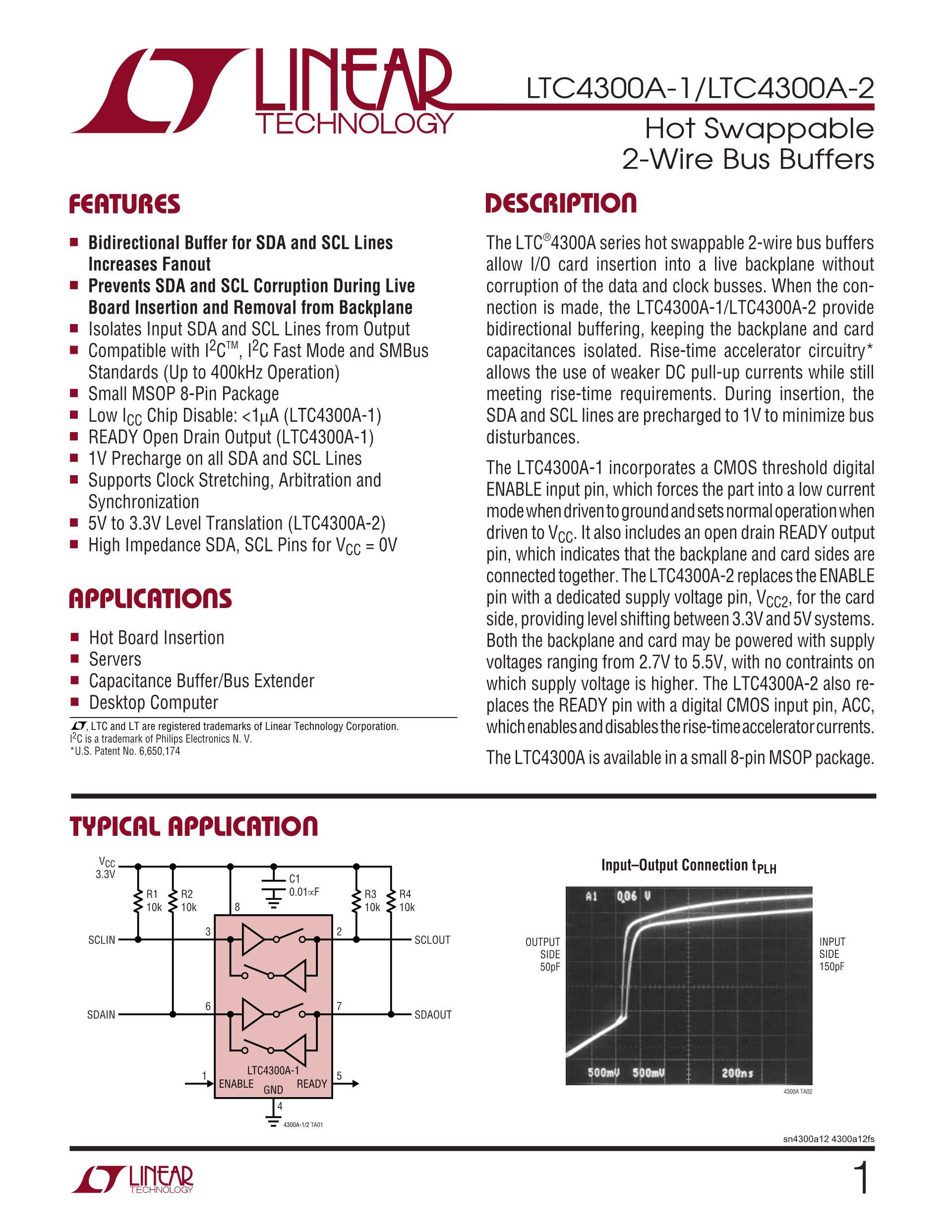 LTC4300A-2CMS8#PBF's pdf picture 1