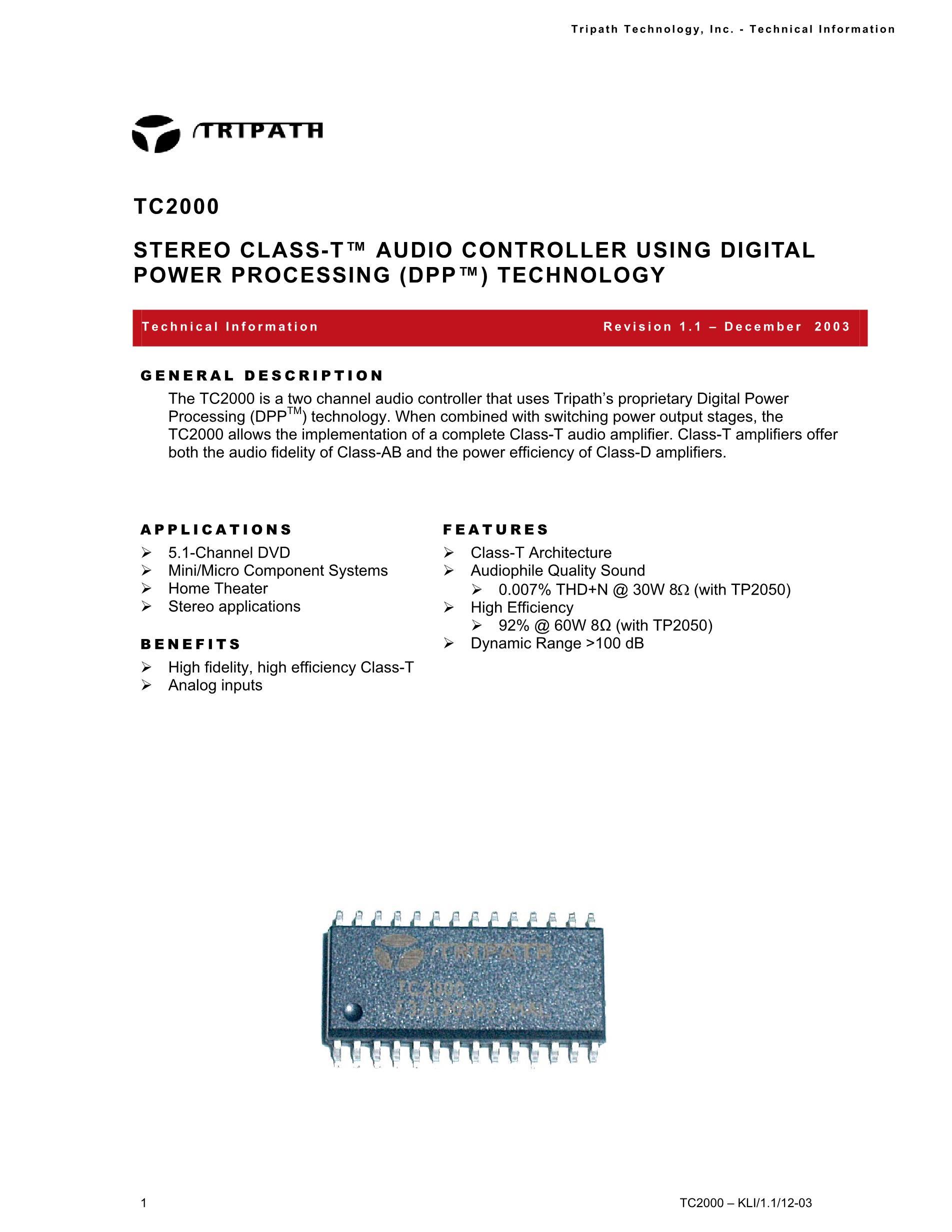 TC203E7450TB's pdf picture 1