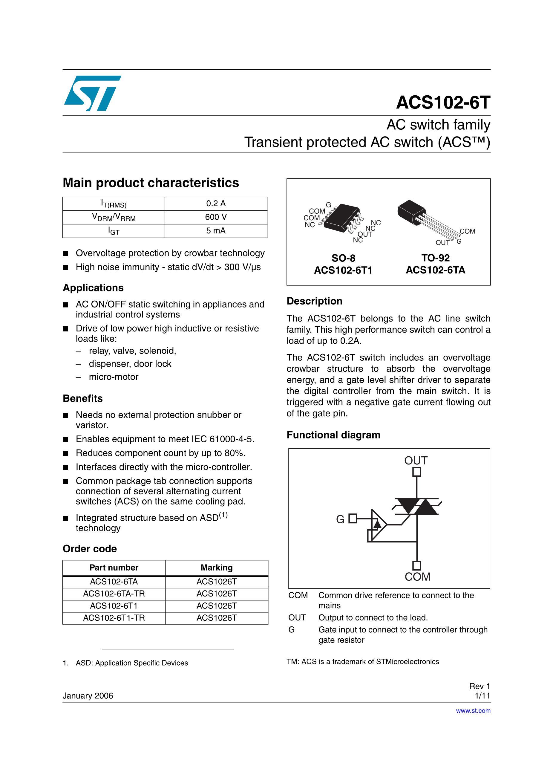 ACS108-6SA-TR's pdf picture 1