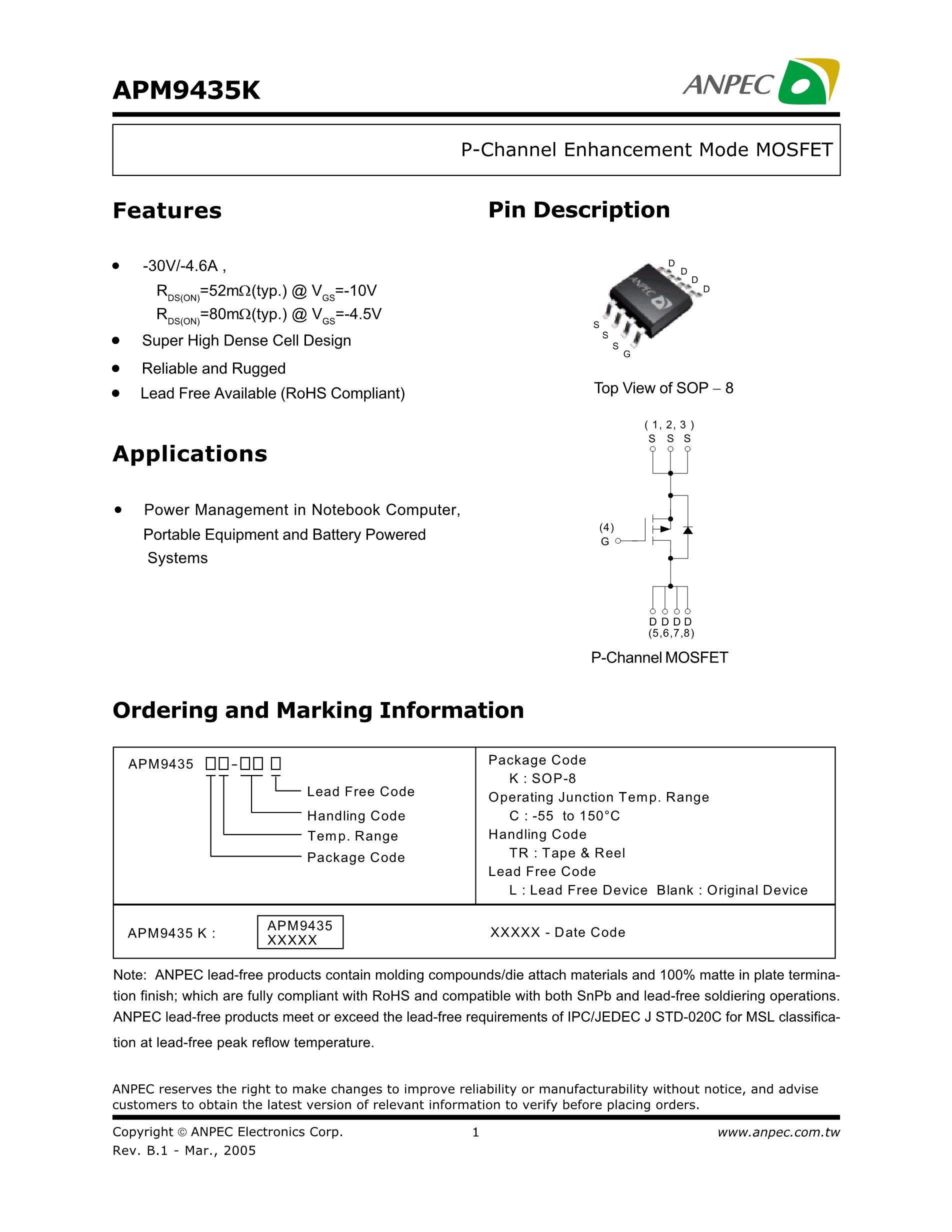 APM9946JC-TR's pdf picture 1