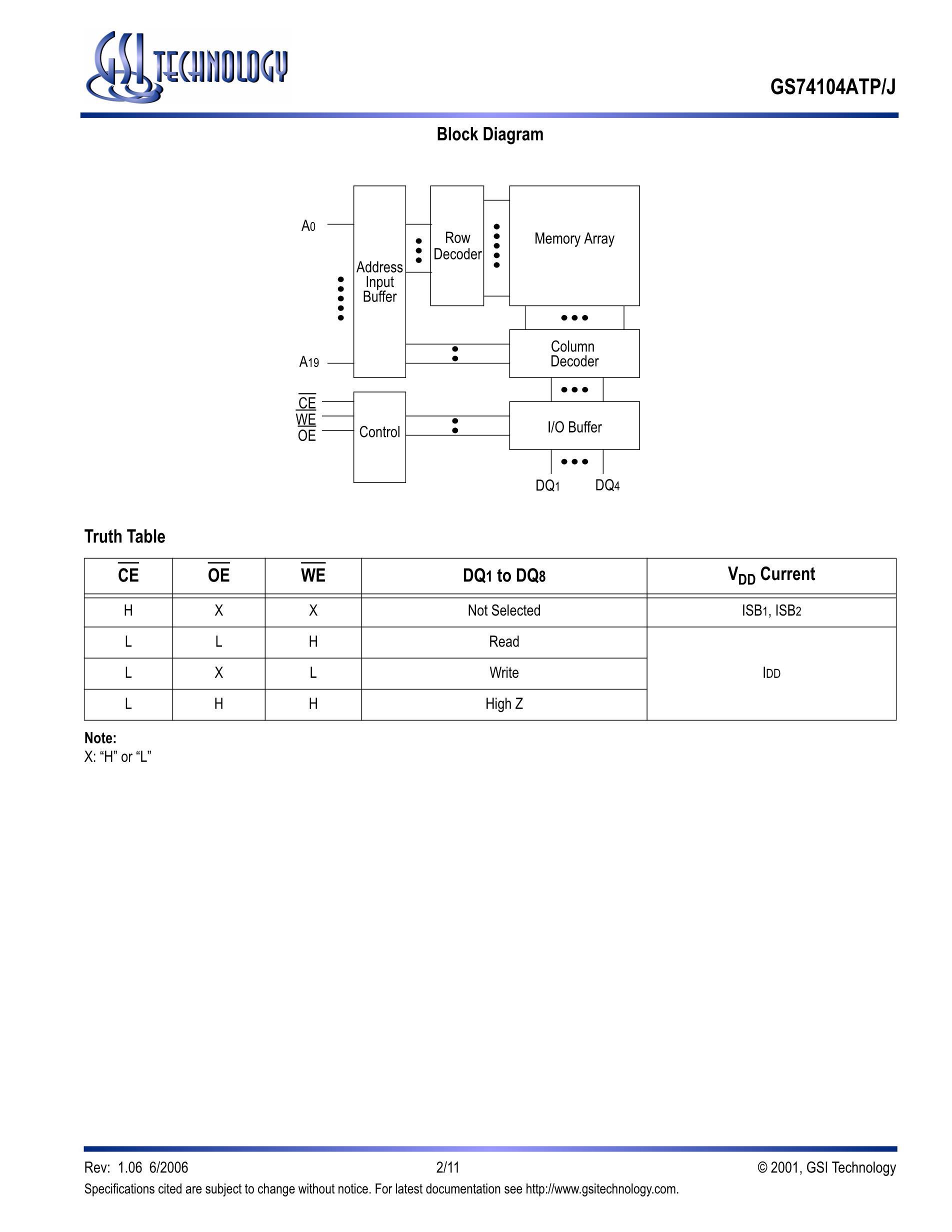 GS74116J10's pdf picture 2