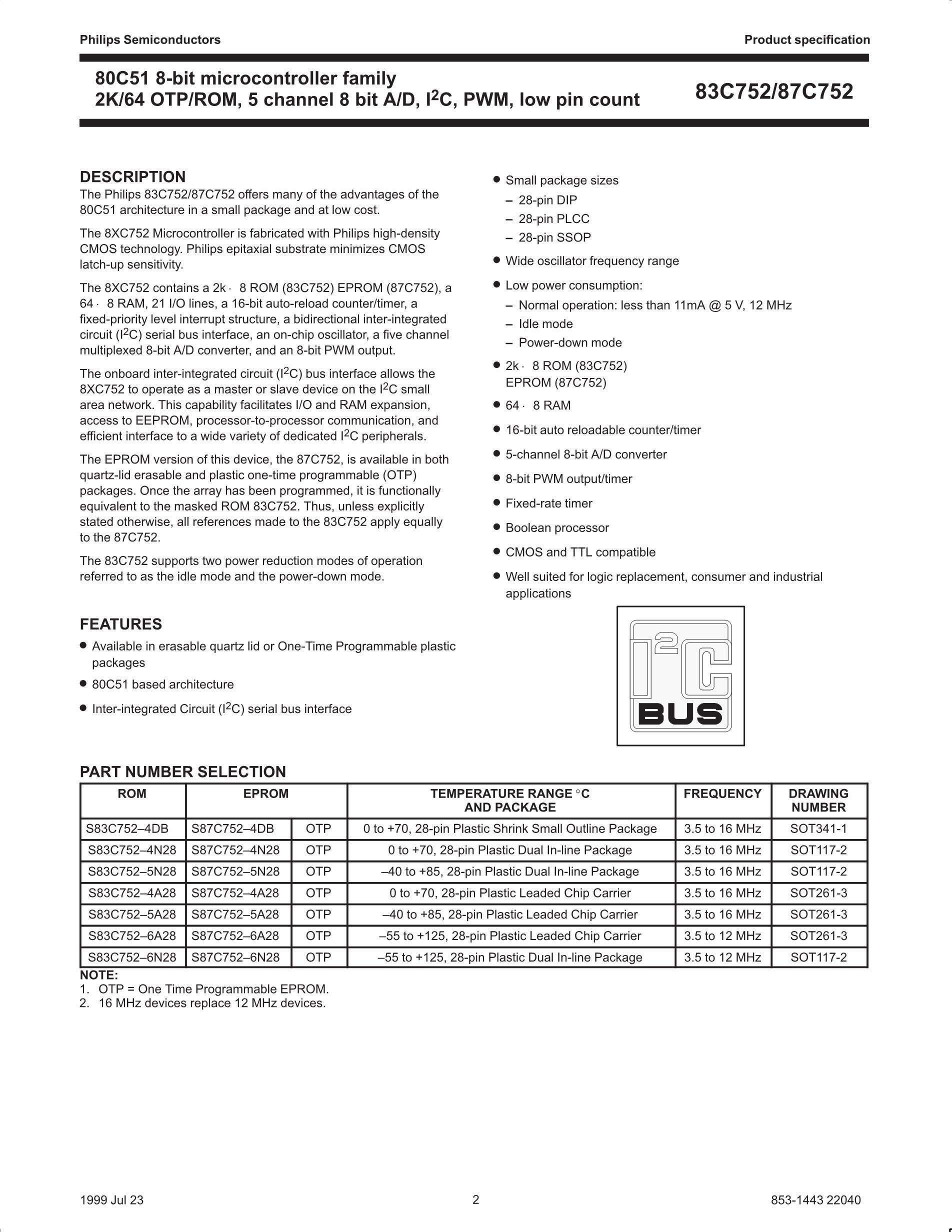 S87C654-5F40's pdf picture 2