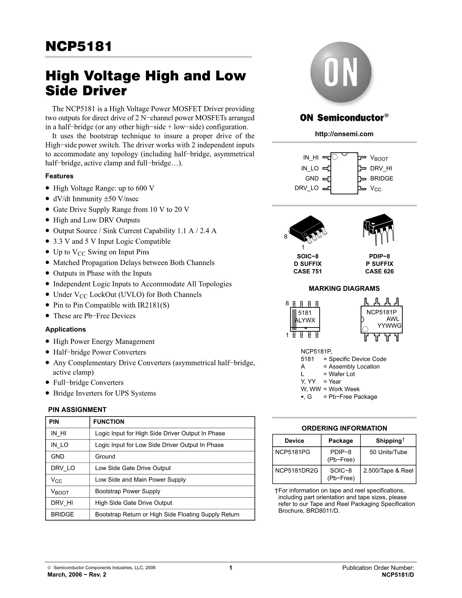NCP5021MUTXG's pdf picture 1