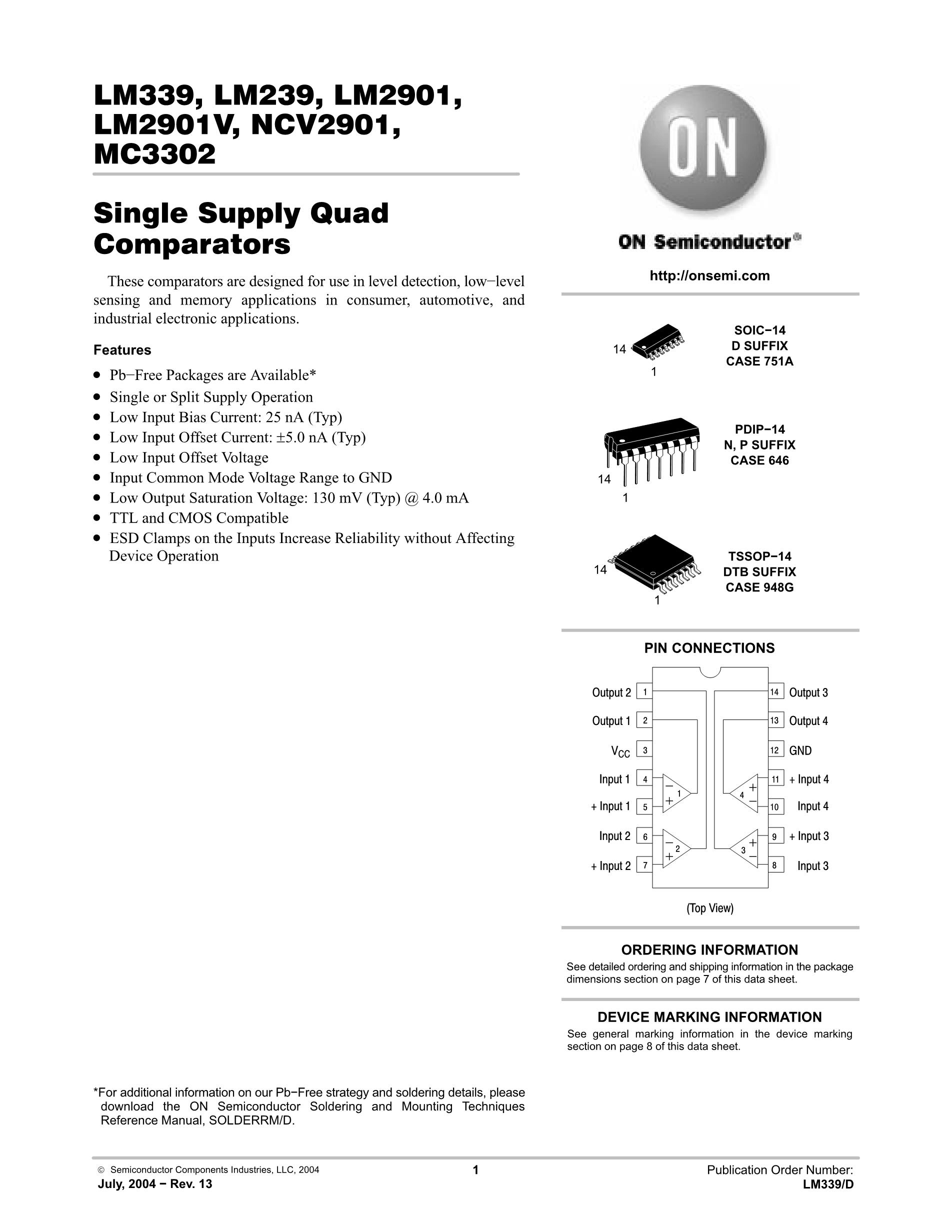 LM339DG's pdf picture 1