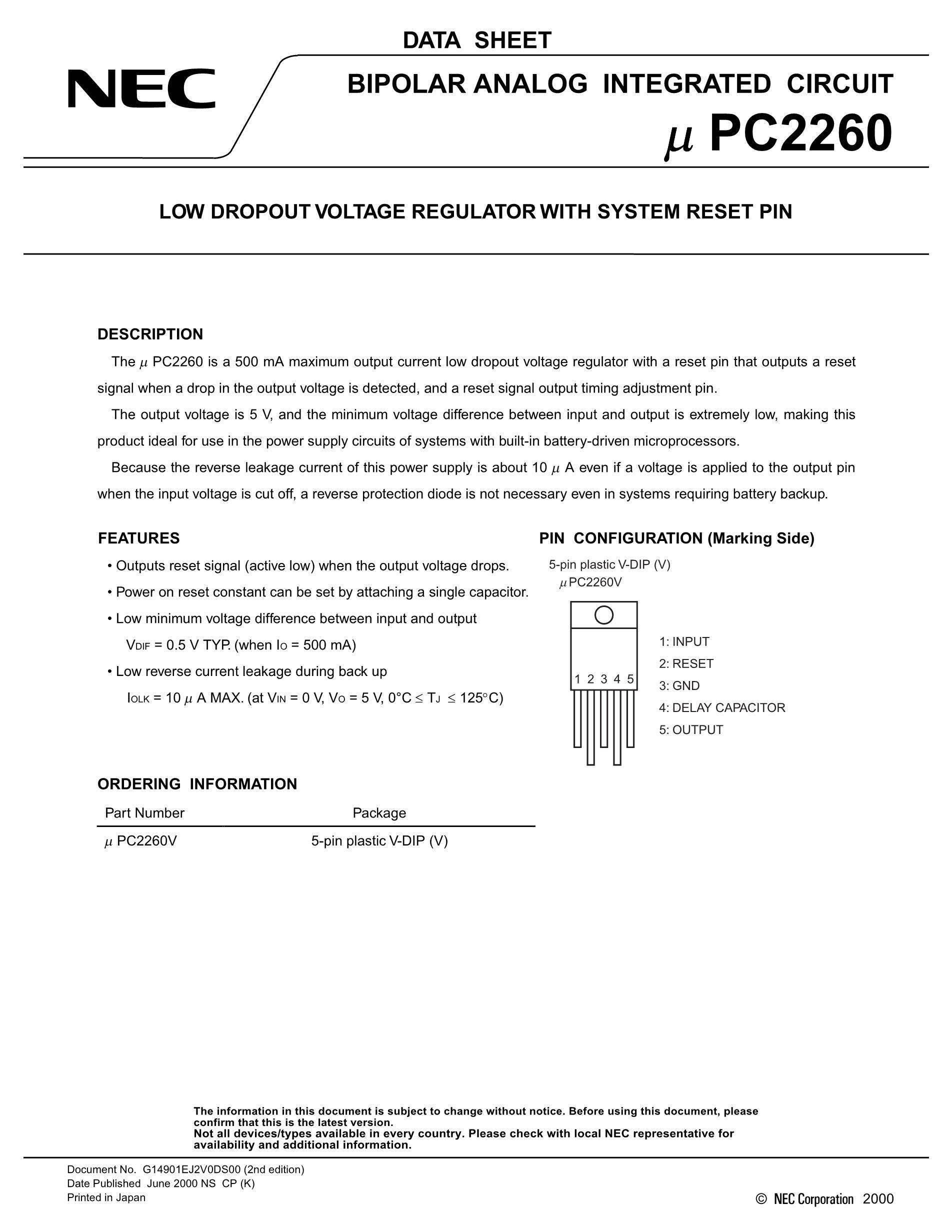 UPC2747T-E3's pdf picture 1