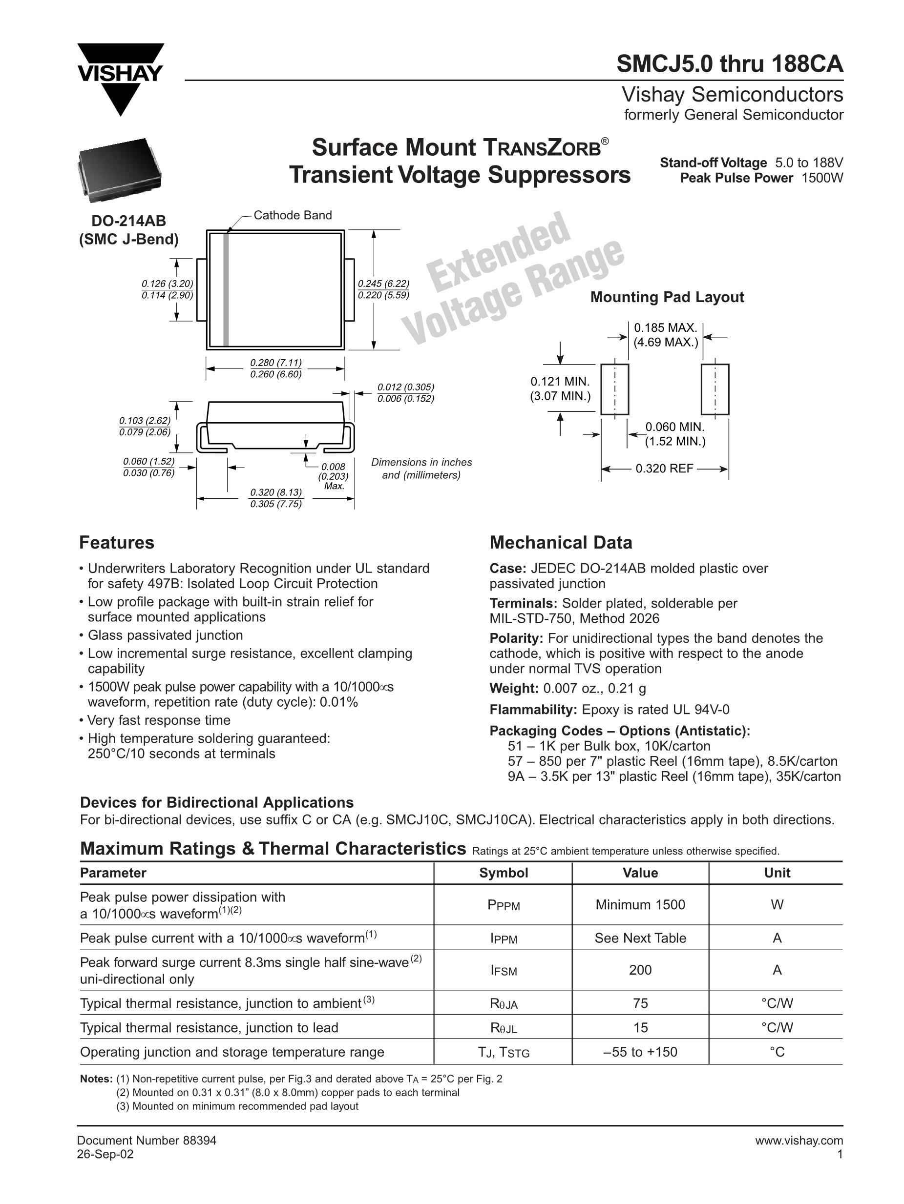 SMCJ45CA-13-F's pdf picture 1