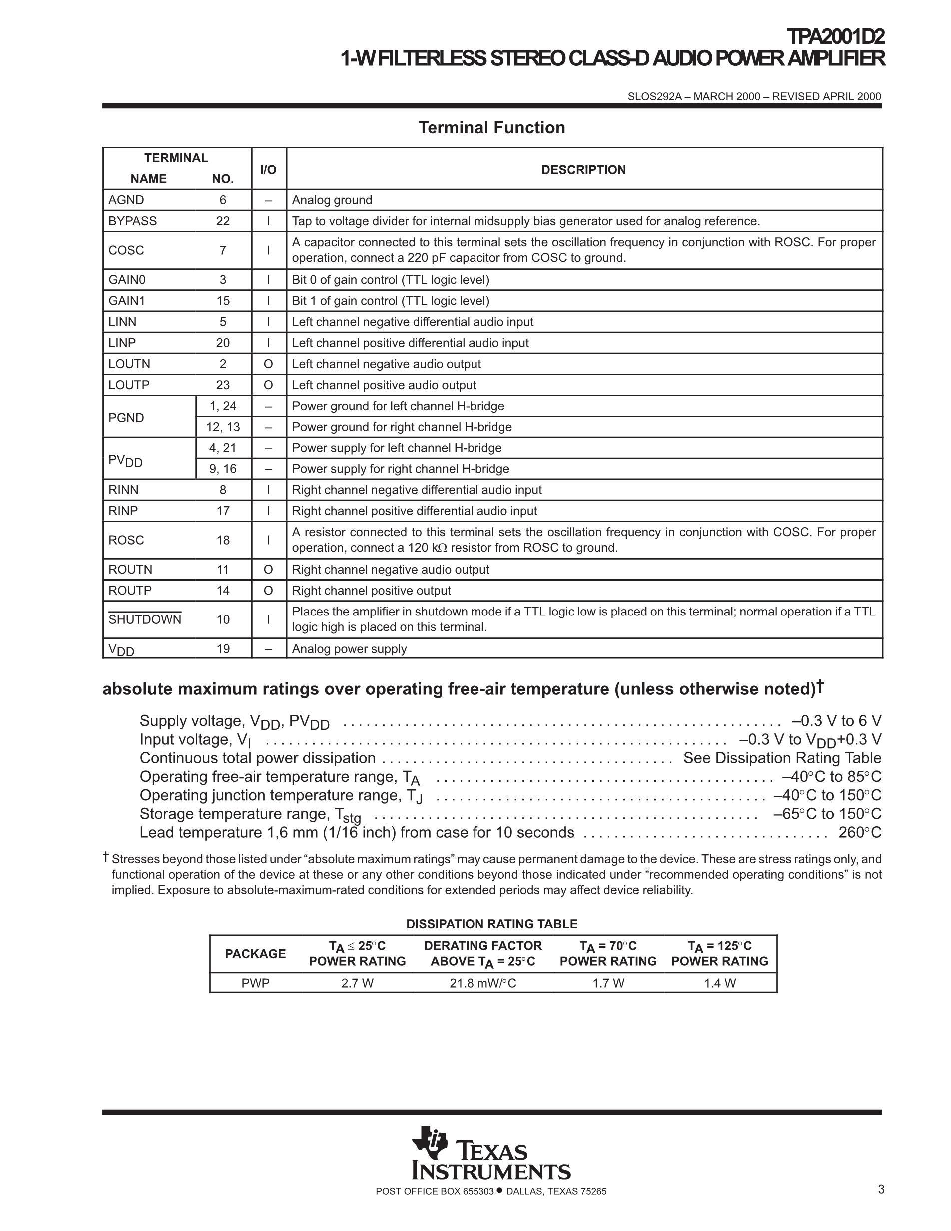 TPA2001D2PWPR's pdf picture 3