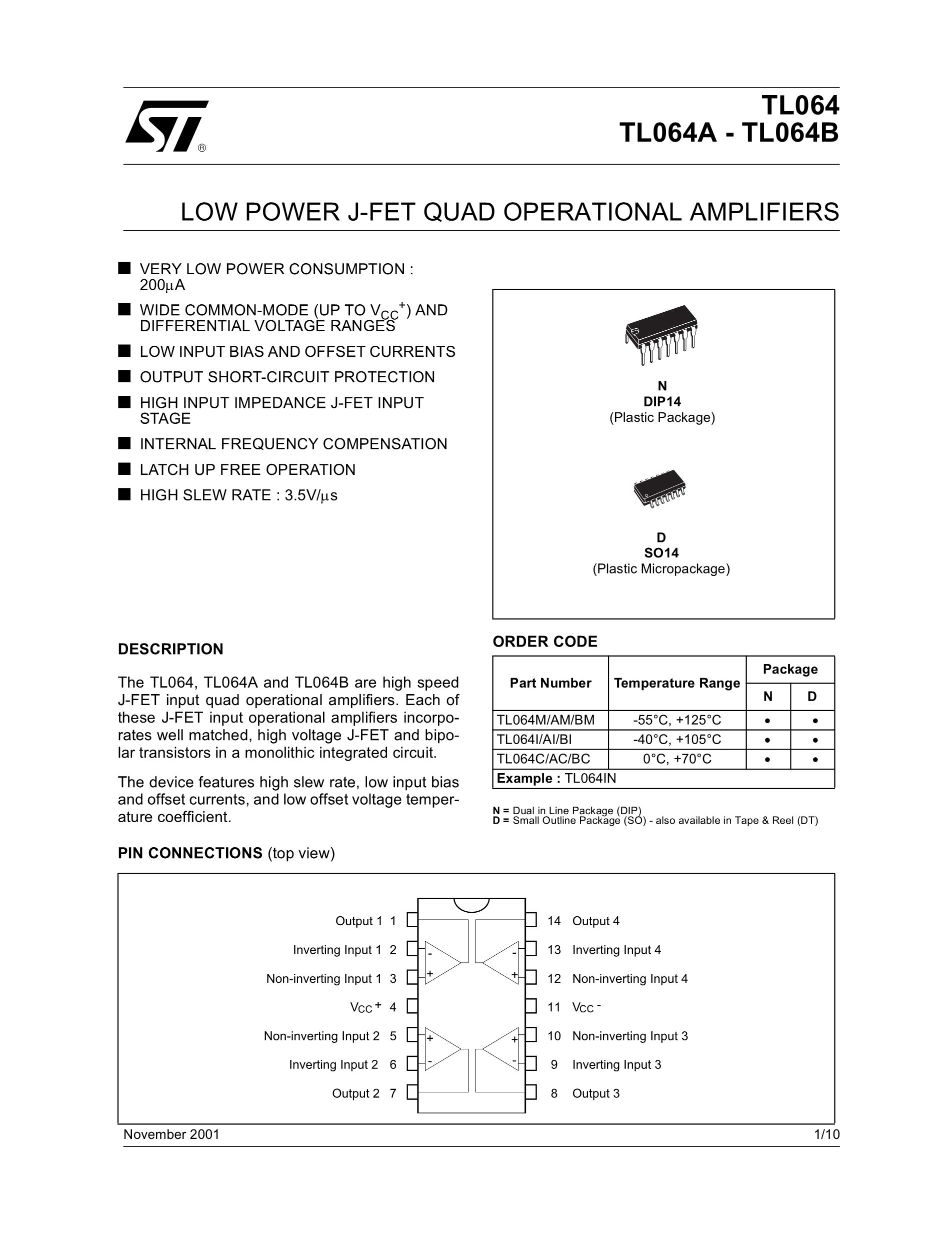 TL064C's pdf picture 1