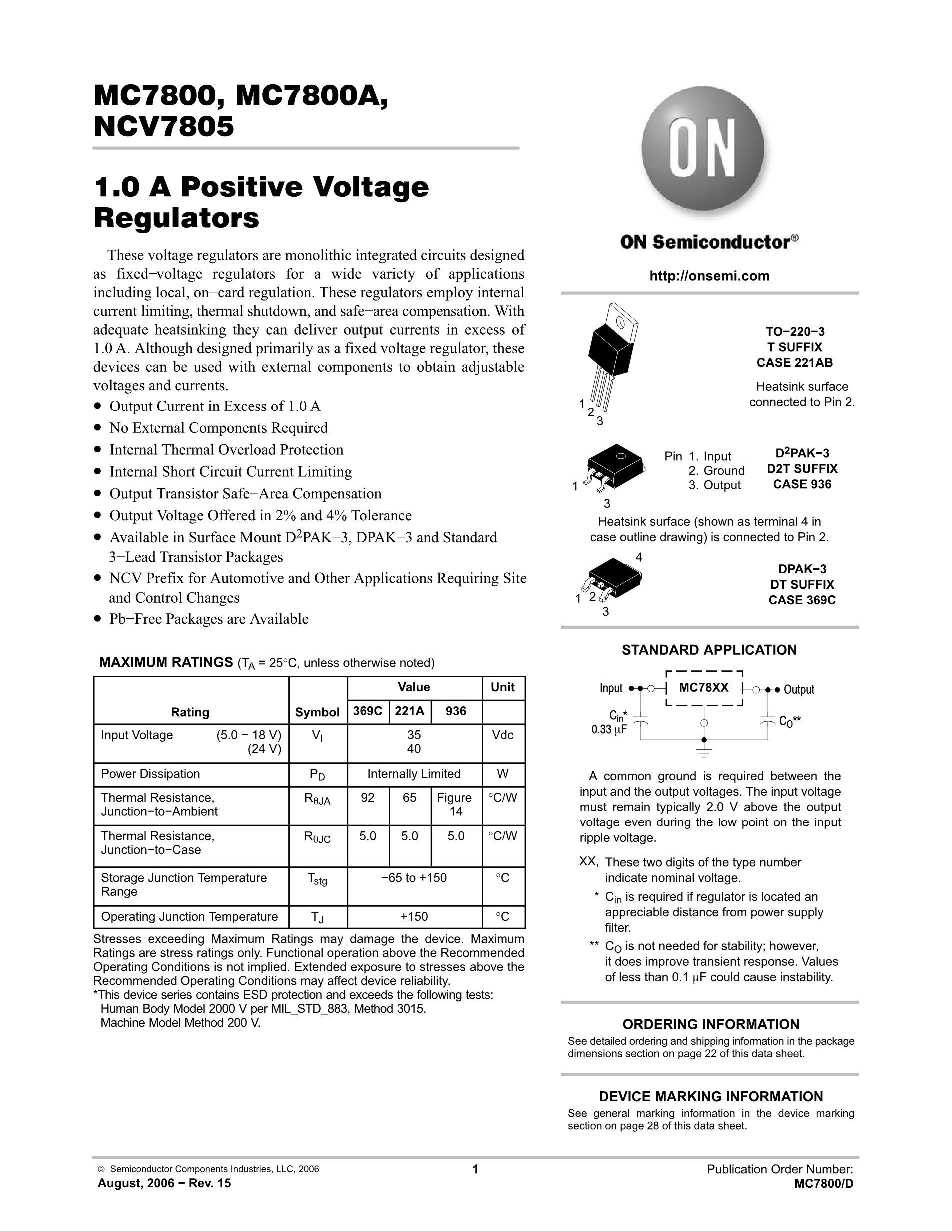 MC78M12CDTRK's pdf picture 1