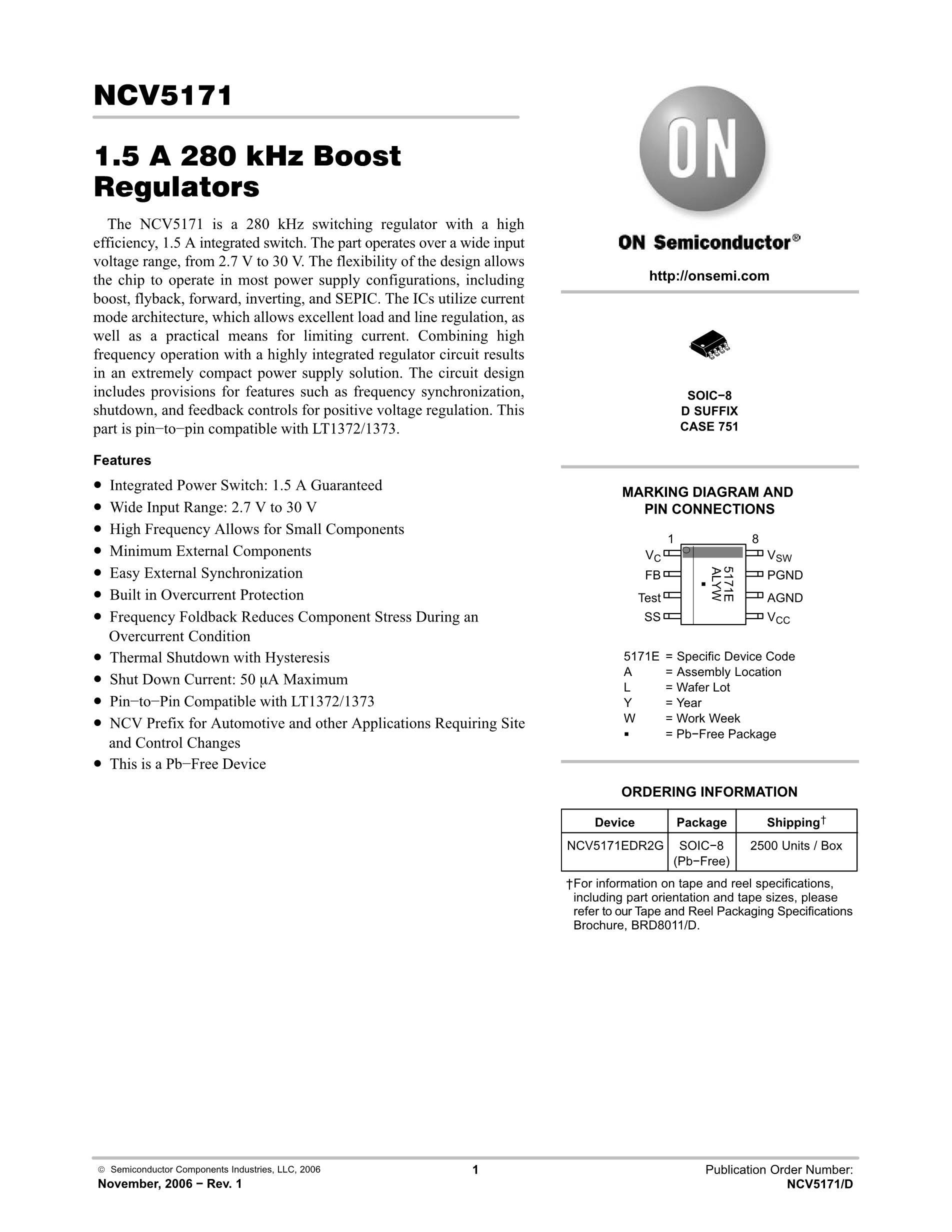 NCV5173EDR2G's pdf picture 1