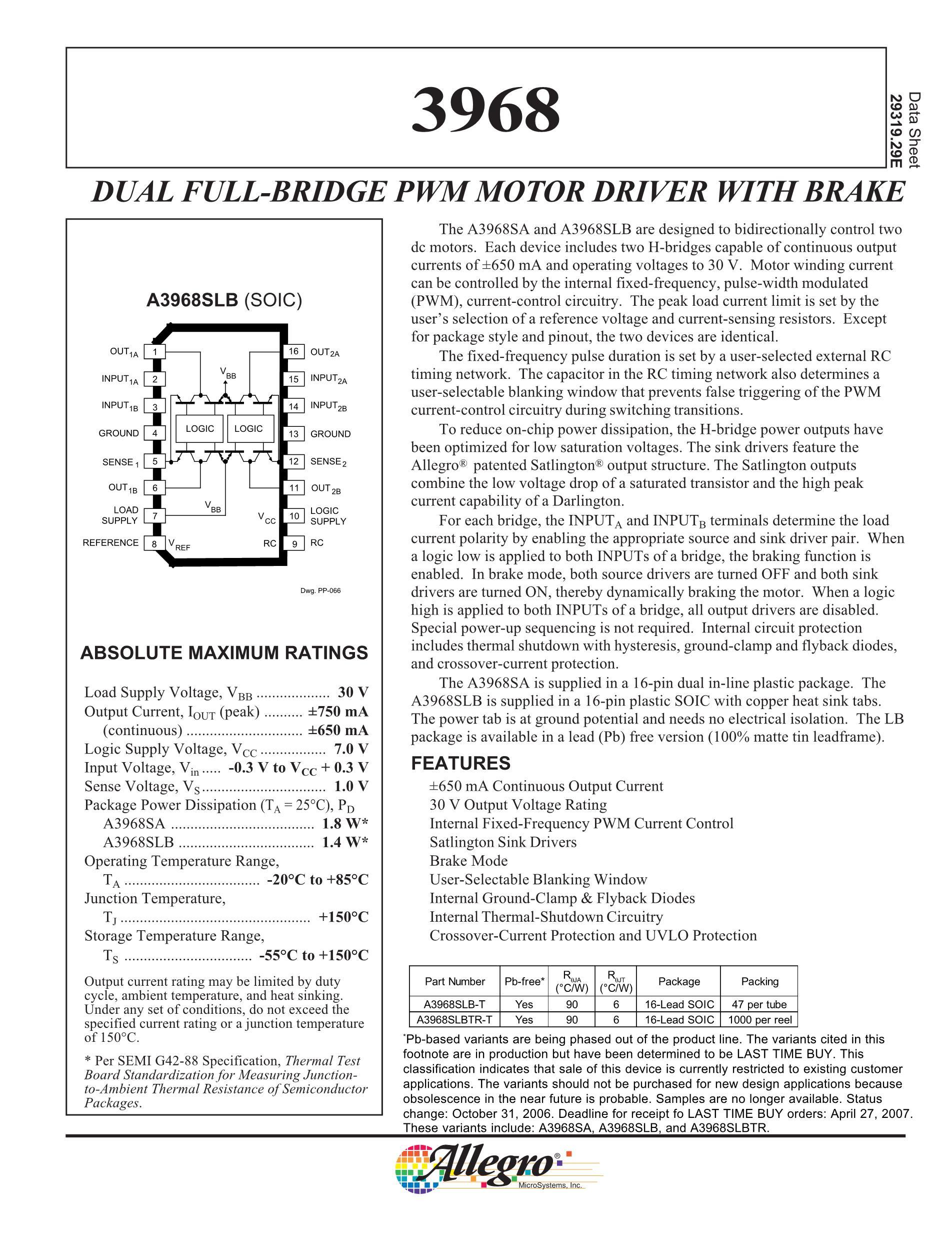 A3966SLB's pdf picture 1