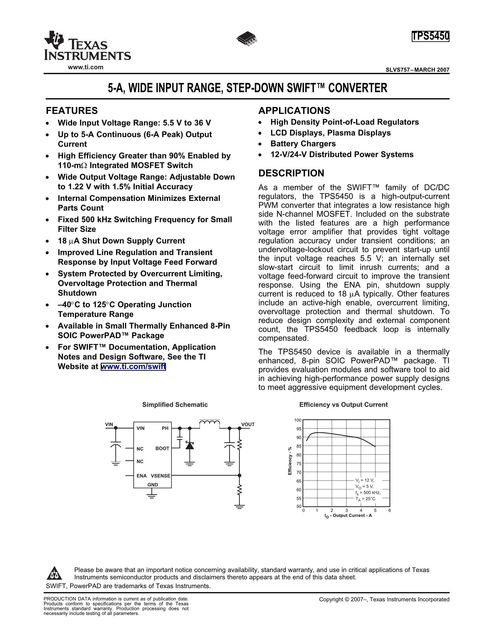 TPS54040DGQR's pdf picture 1