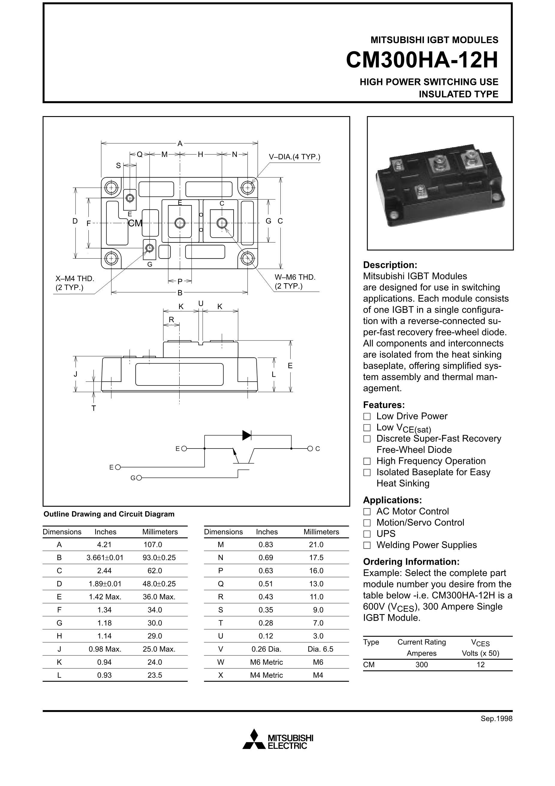 CM300DY-12G's pdf picture 1
