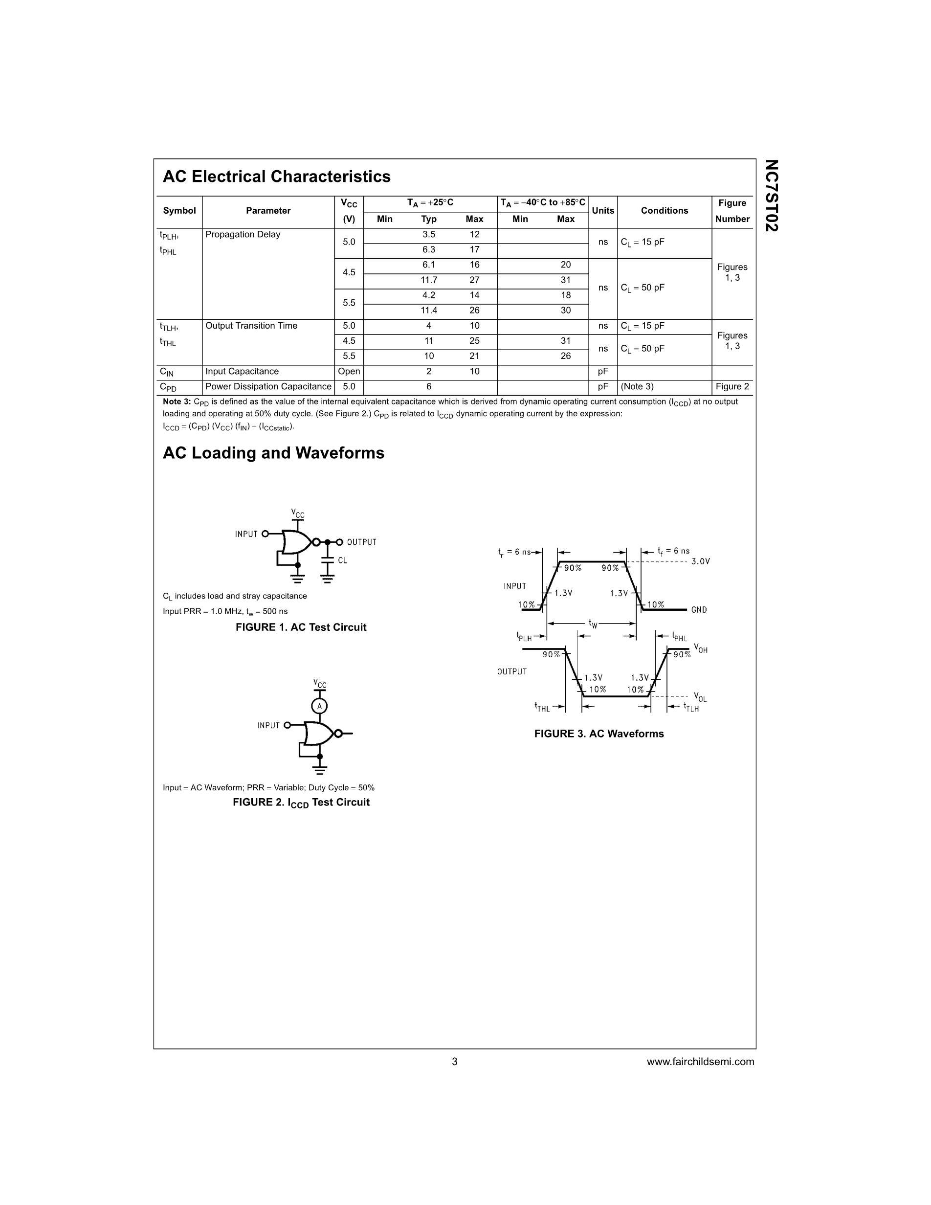 NC7SP19P6X's pdf picture 3