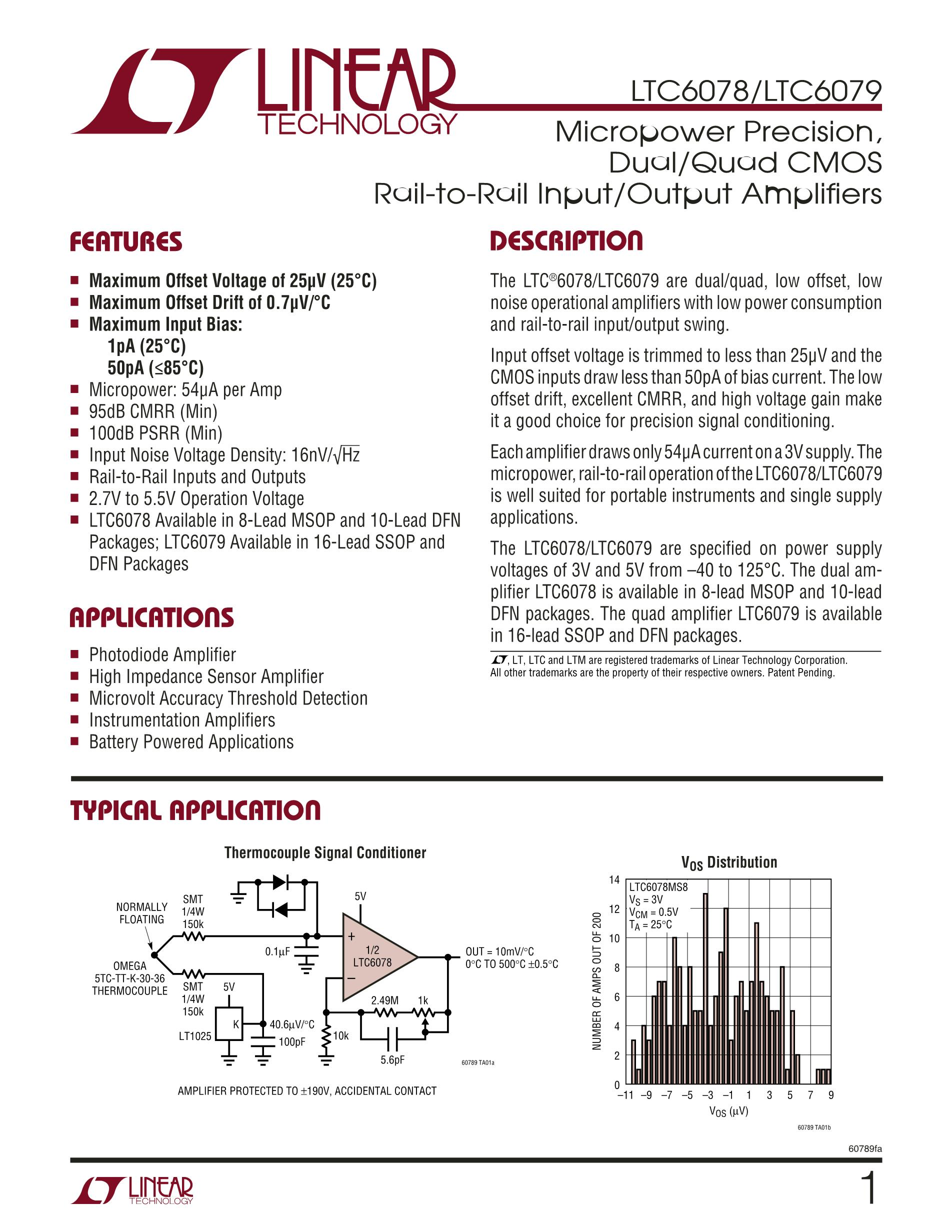 LTC6957IDD-2#PBF's pdf picture 1