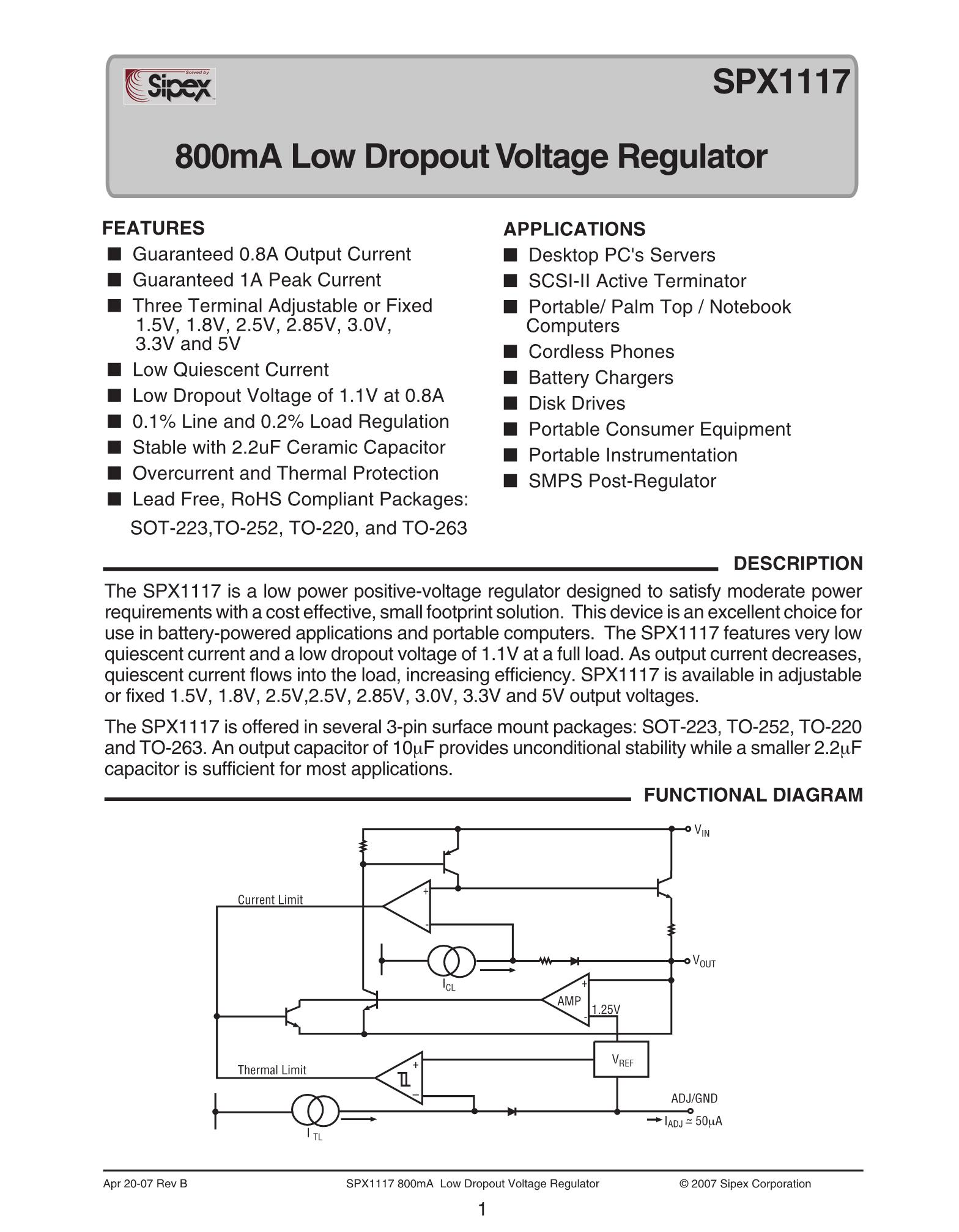 SPX12A20's pdf picture 1