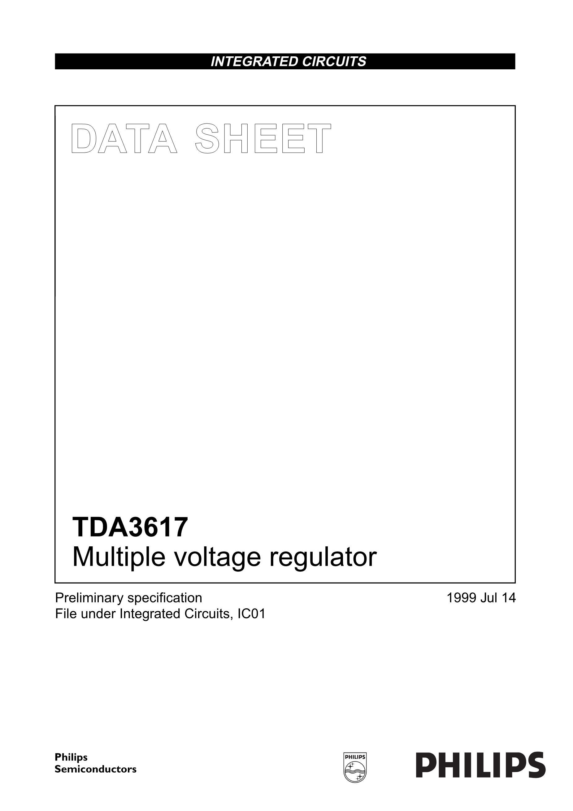 TDA3681J's pdf picture 1
