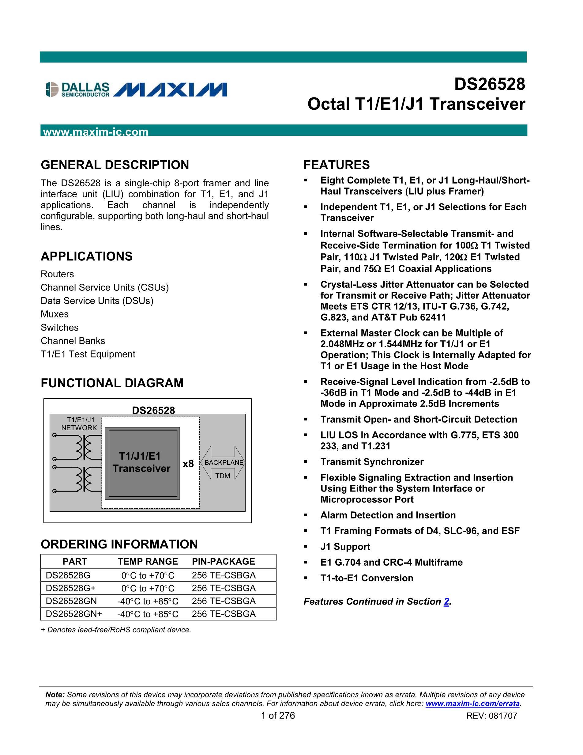 DS26LS31CM 's pdf picture 1