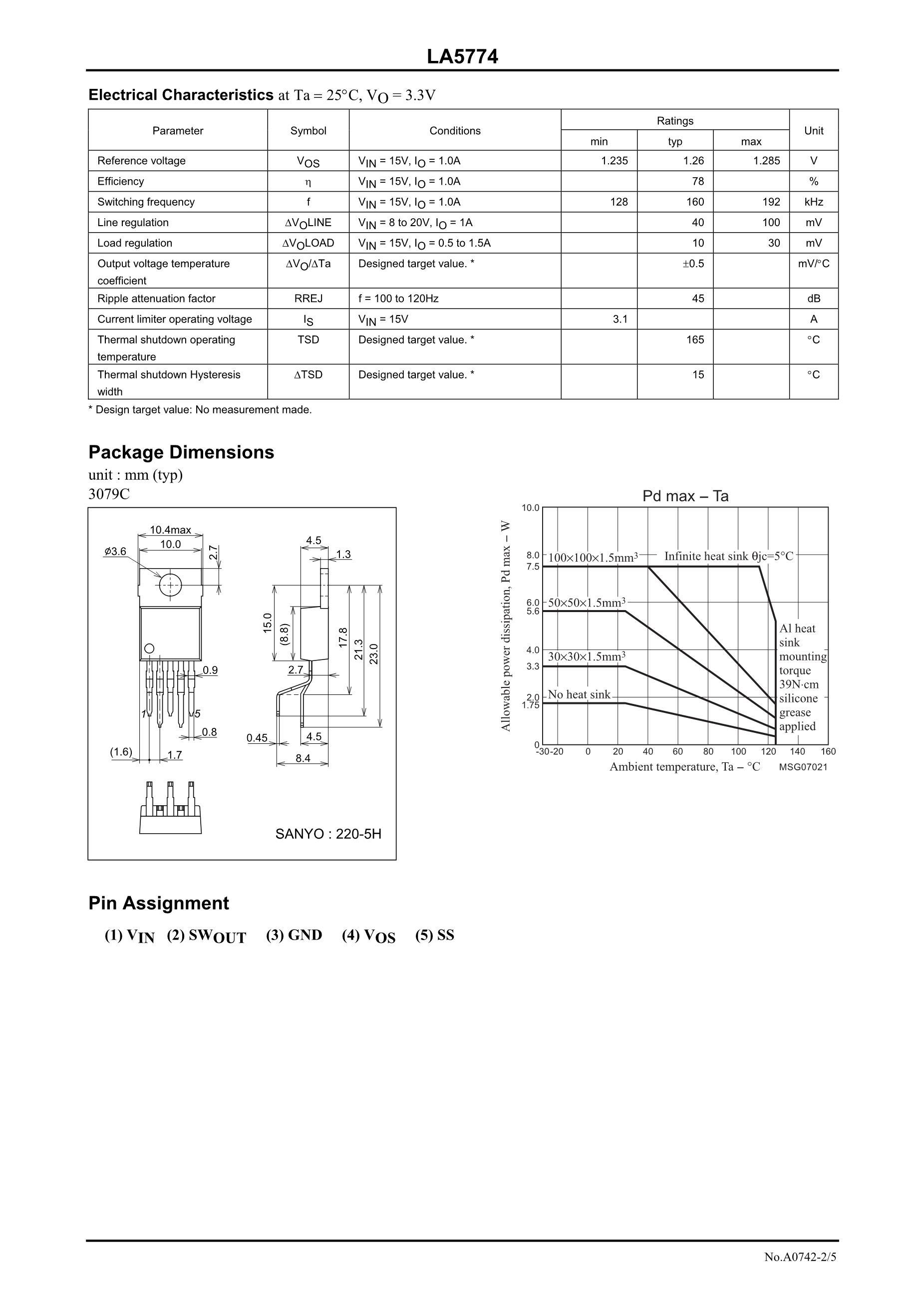 LA5734MP-E's pdf picture 2