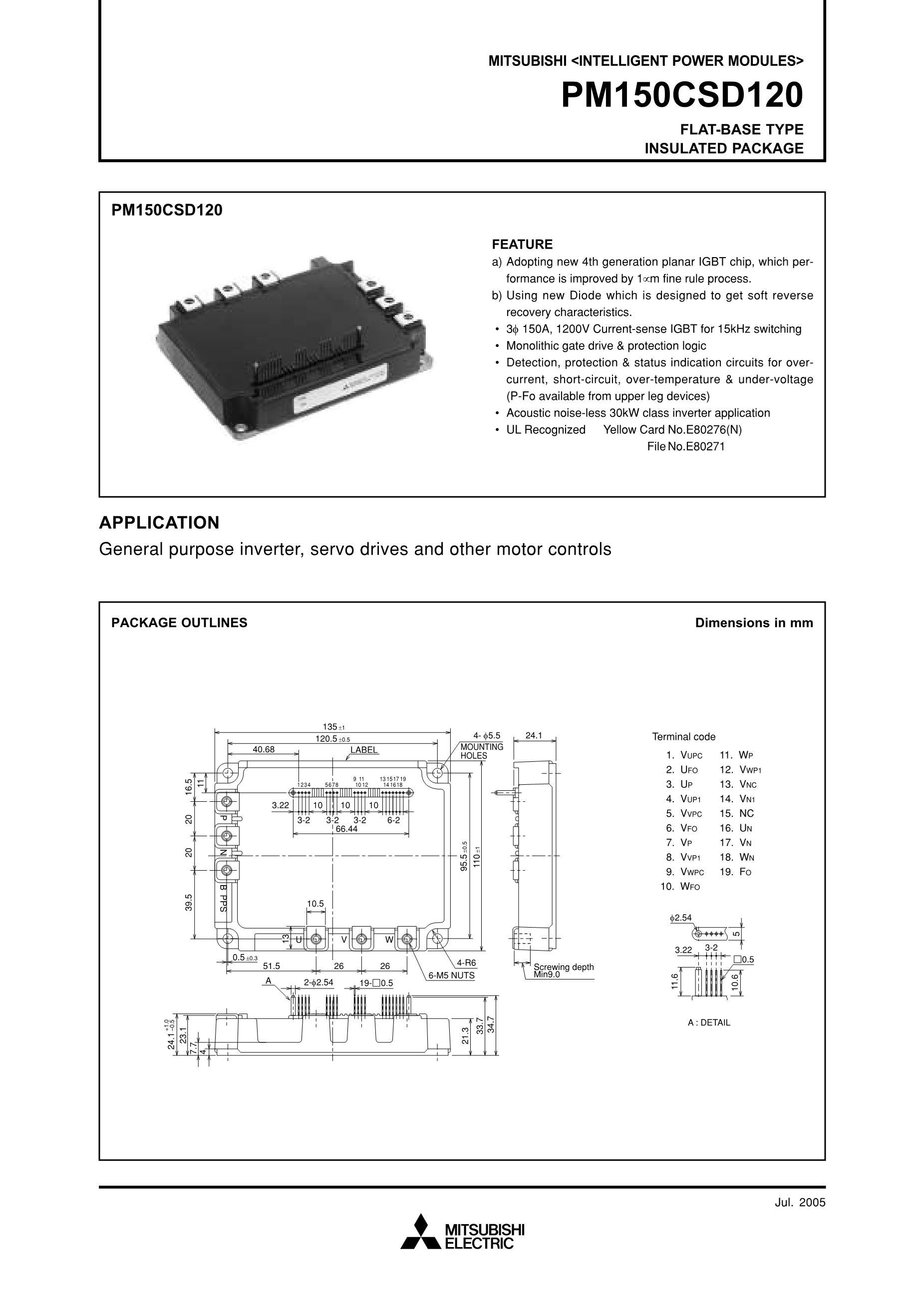 PM15CTM060 PM20CTM0's pdf picture 1