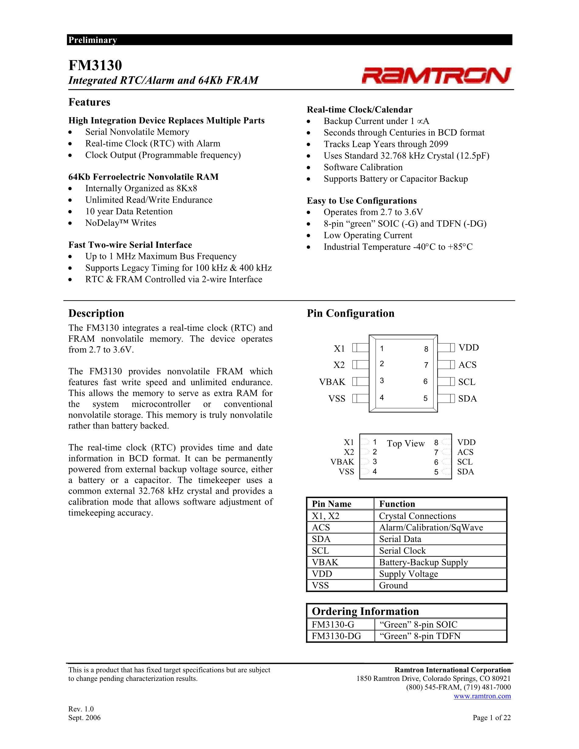 FM31256-G's pdf picture 1